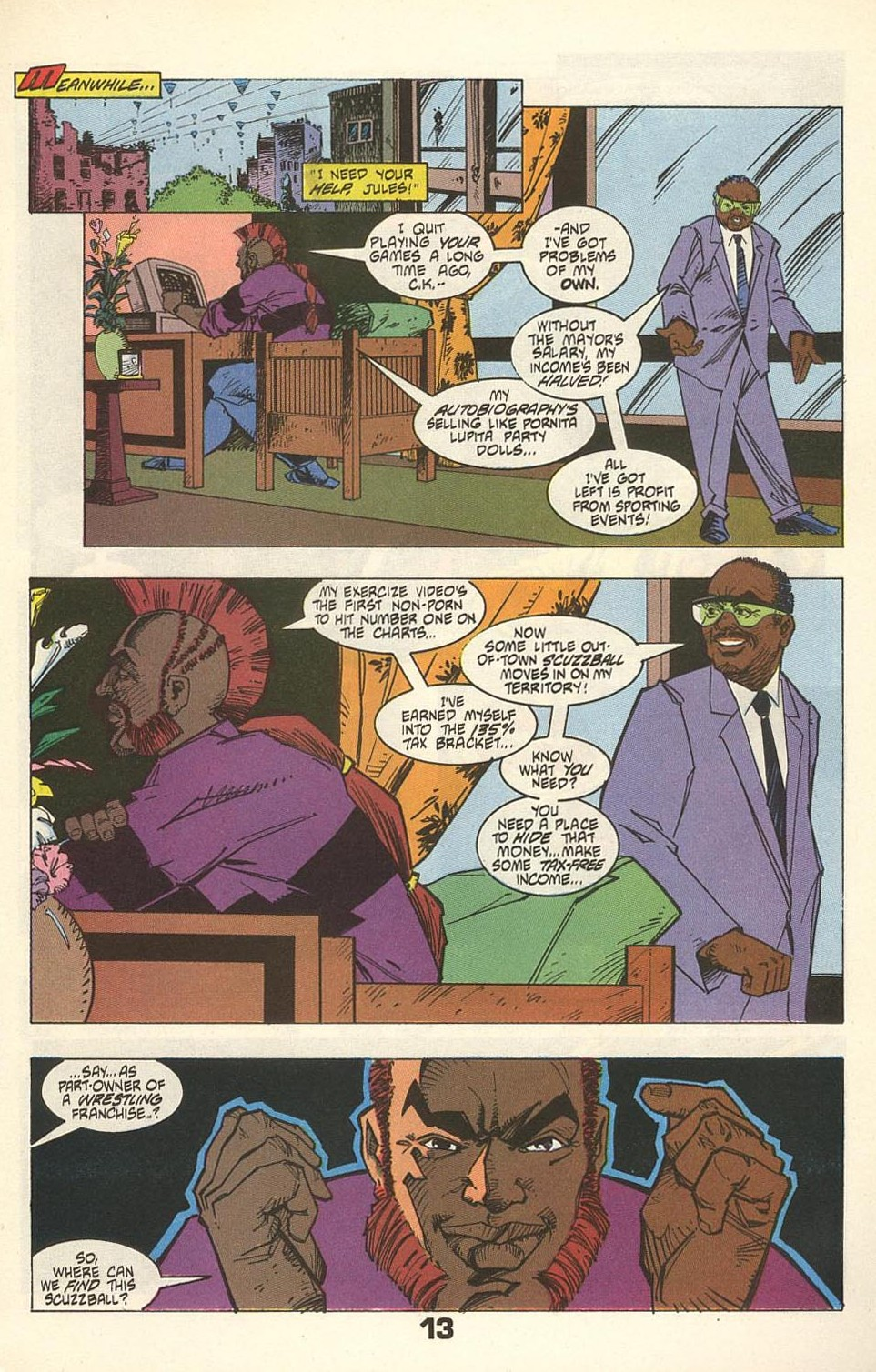 Read online American Flagg! comic -  Issue #31 - 17
