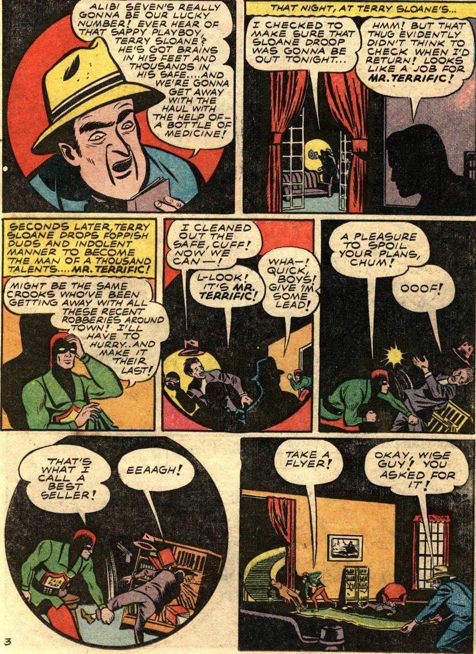 Read online Sensation (Mystery) Comics comic -  Issue #58 - 33
