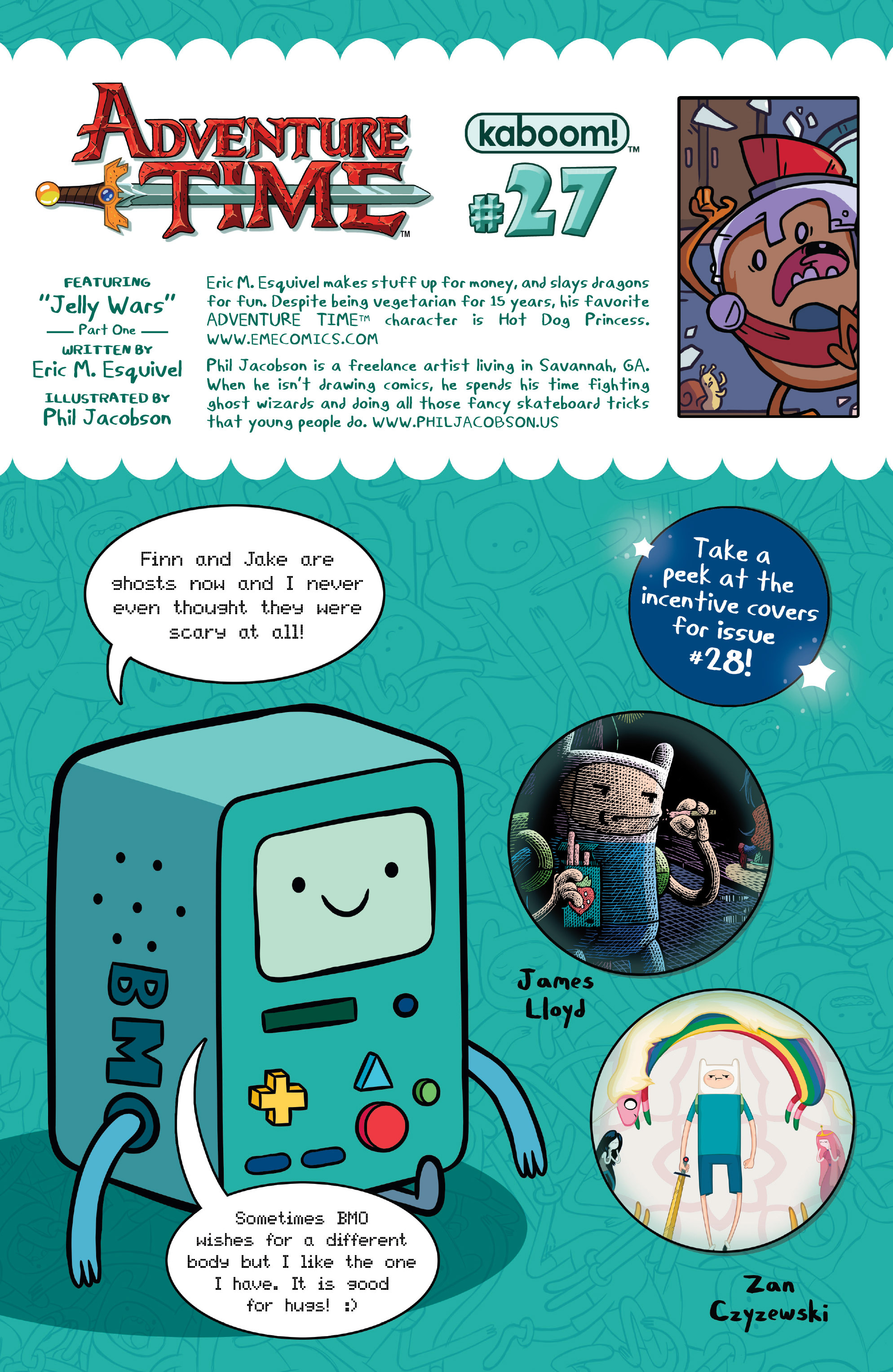 Read online Adventure Time comic -  Issue #27 - 27