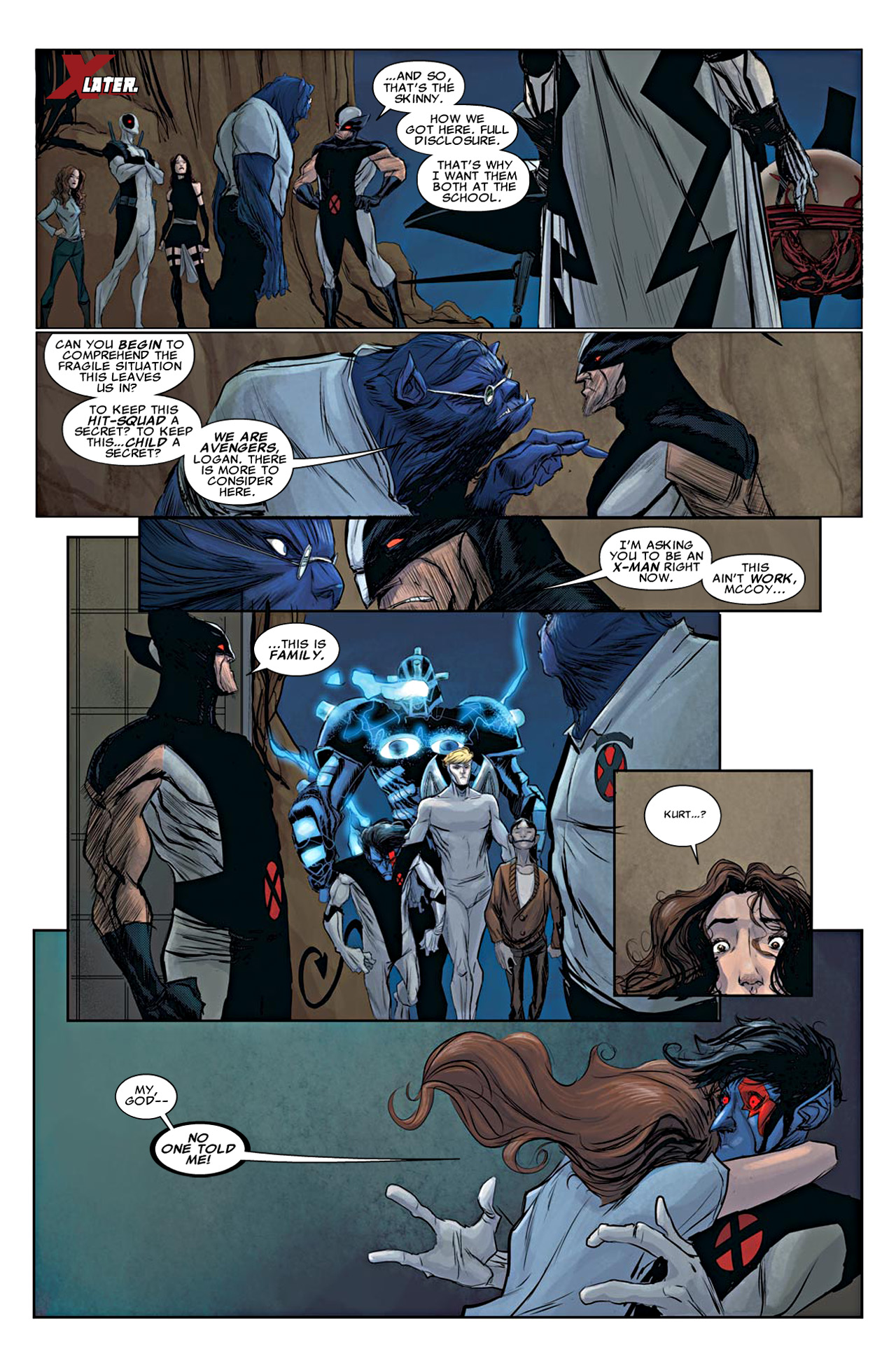 Read online Uncanny X-Force (2010) comic -  Issue #19 - 18