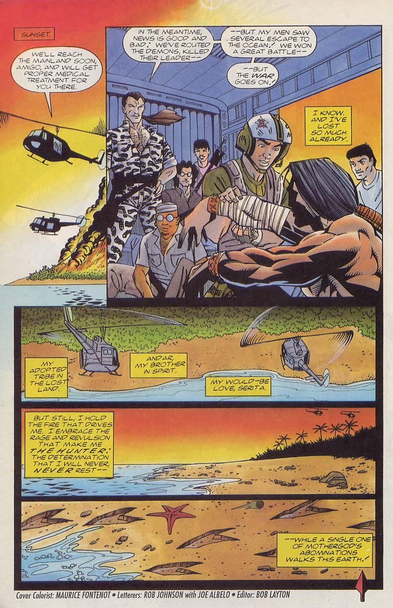 Read online Turok, Dinosaur Hunter (1993) comic -  Issue #3 - 21