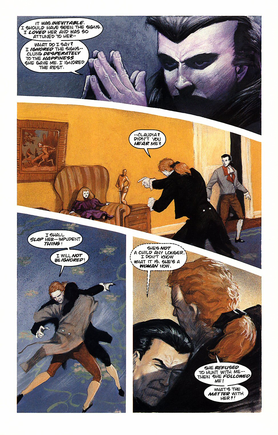 Read online Anne Rice's Interview with the Vampire comic -  Issue #4 - 16