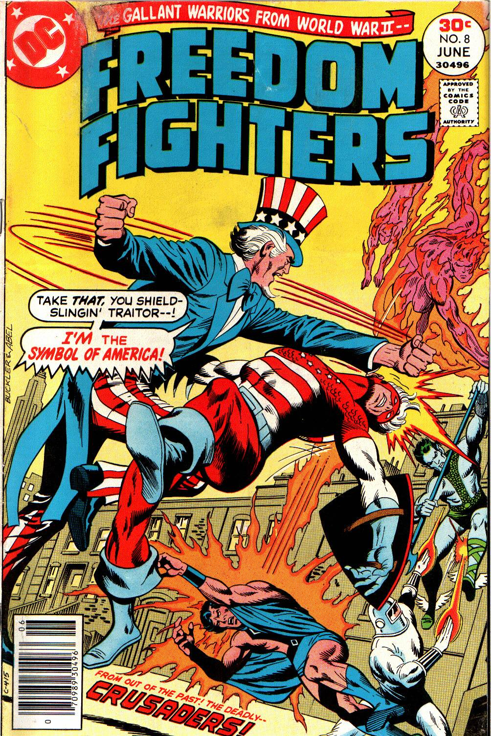 Freedom Fighters (1976) issue 8 - Page 1