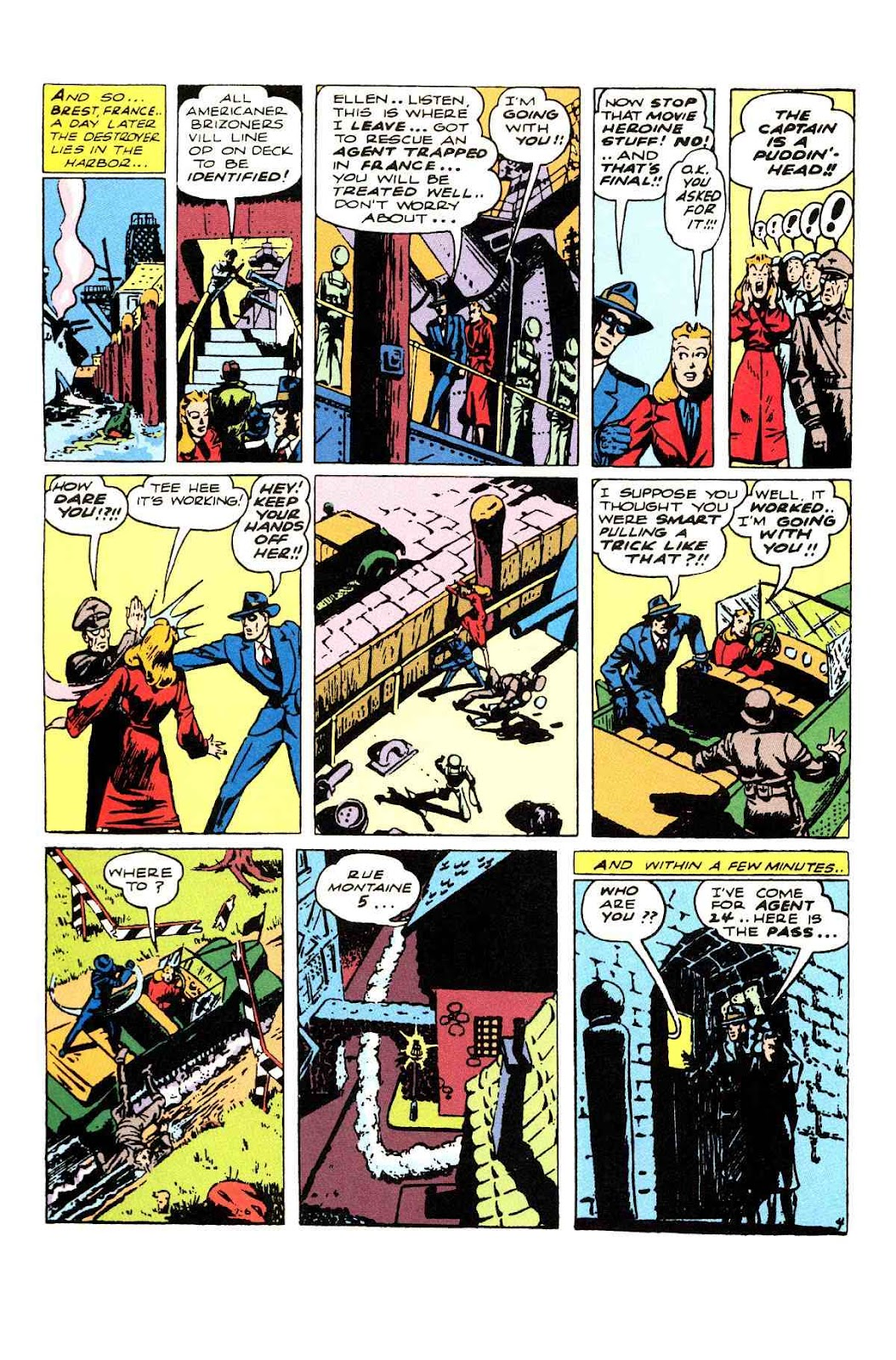 Read online Will Eisner's The Spirit Archives comic -  Issue # TPB 3 (Part 1) - 5