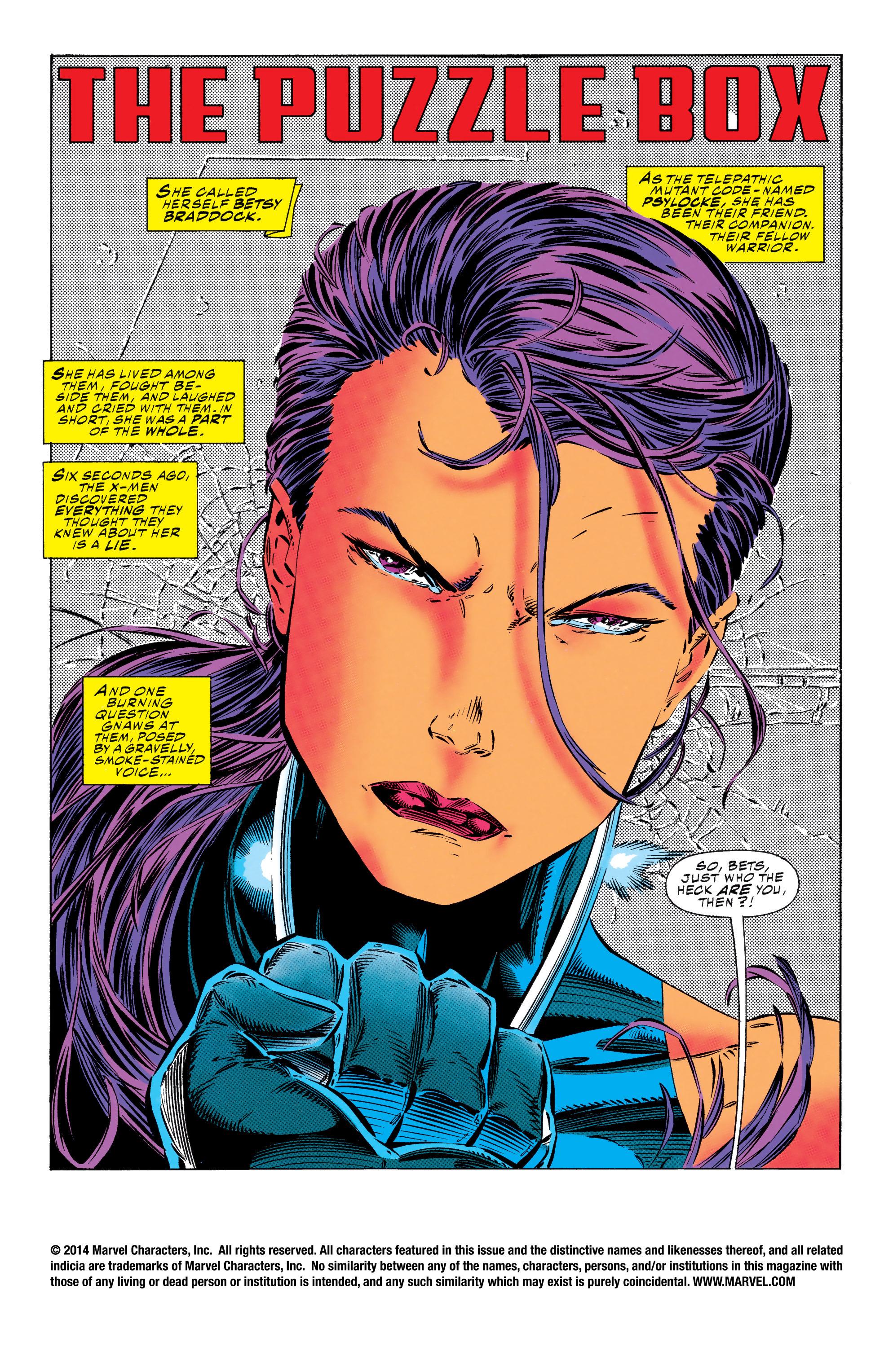 X-Men (1991) 21 Page 1