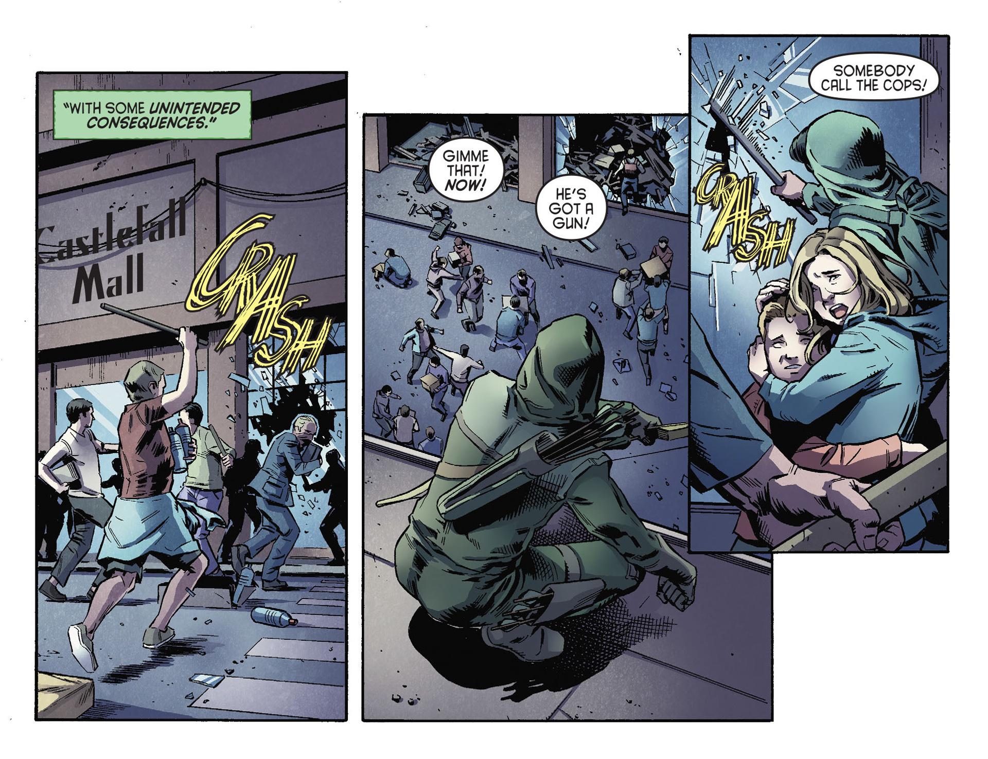 Read online Arrow [II] comic -  Issue #30 - 13