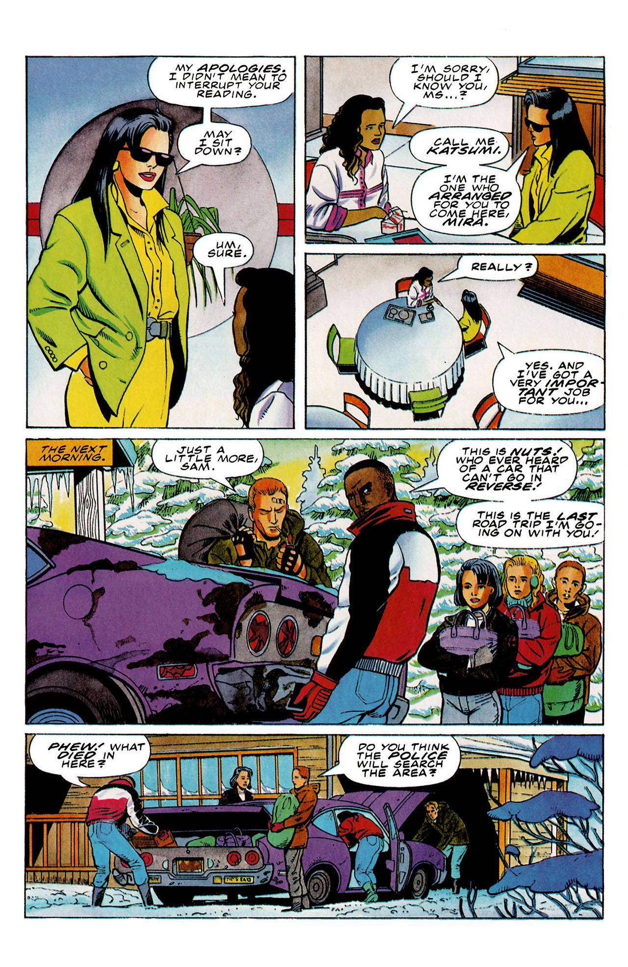 Read online Harbinger (1992) comic -  Issue #27 - 21