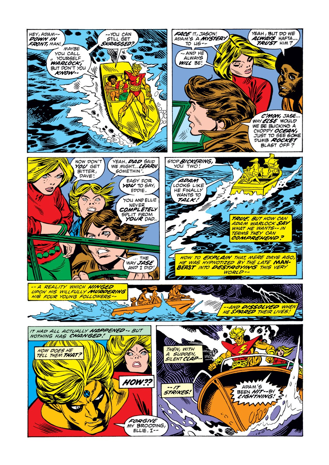 Warlock (1972) issue 3 - Page 3