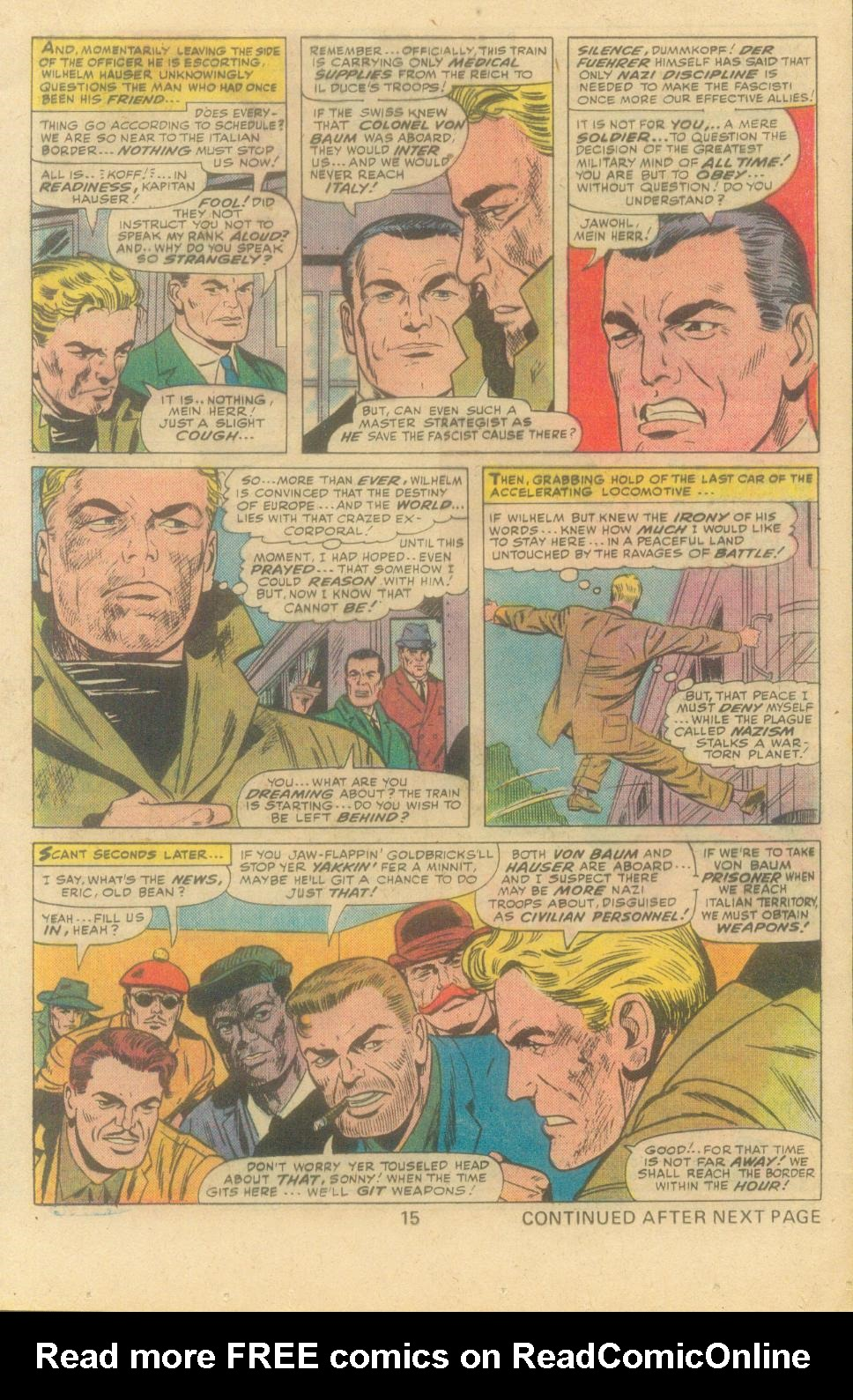 Read online Sgt. Fury comic -  Issue #138 - 17