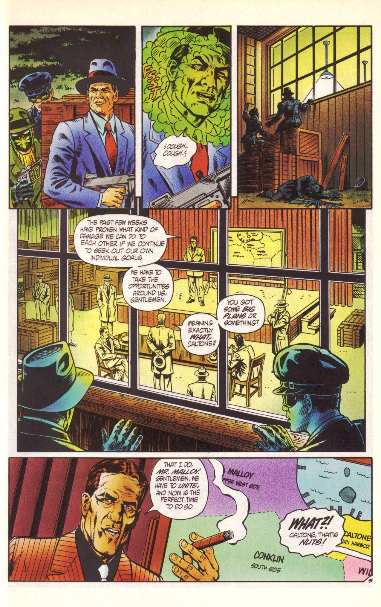Read online Sting of The Green Hornet comic -  Issue #1 - 16