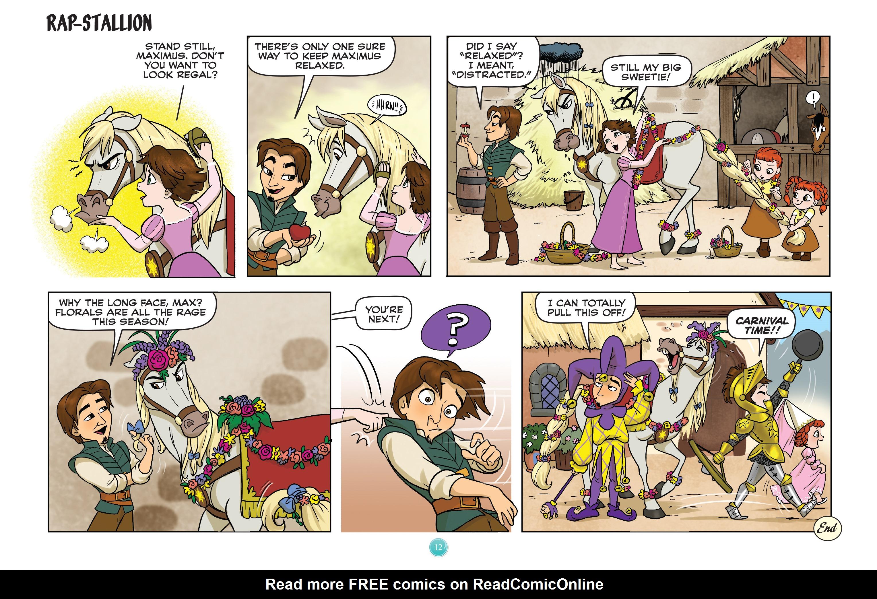 Read online Disney Princess comic -  Issue #9 - 12