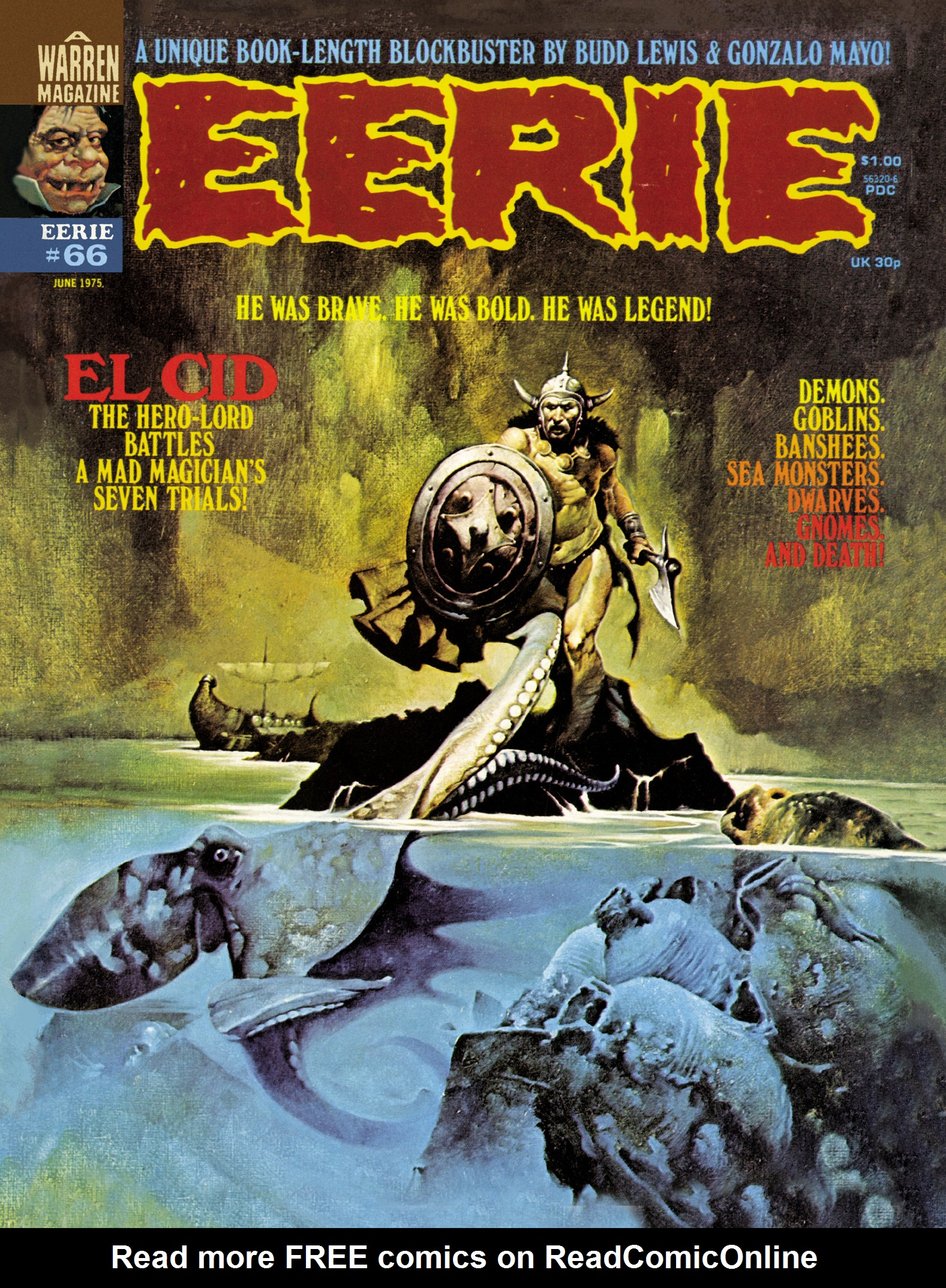 Read online Eerie Archives comic -  Issue # TPB 14 - 74