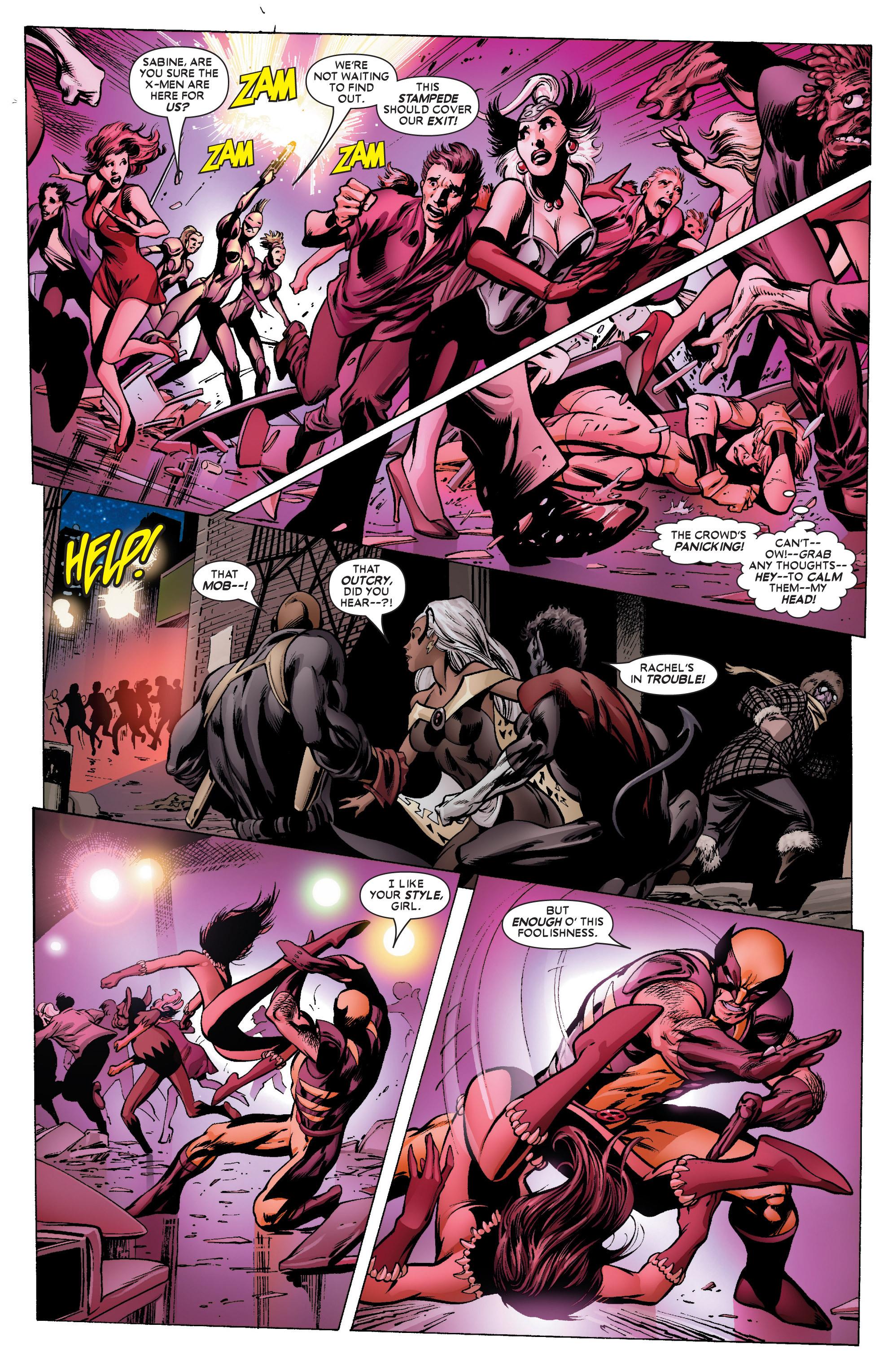 Read online Uncanny X-Men (1963) comic -  Issue #450 - 22