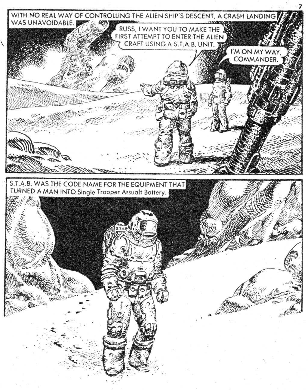 Starblazer issue 87 - Page 7
