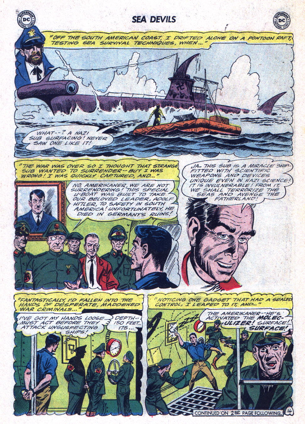 Read online Sea Devils comic -  Issue #22 - 22