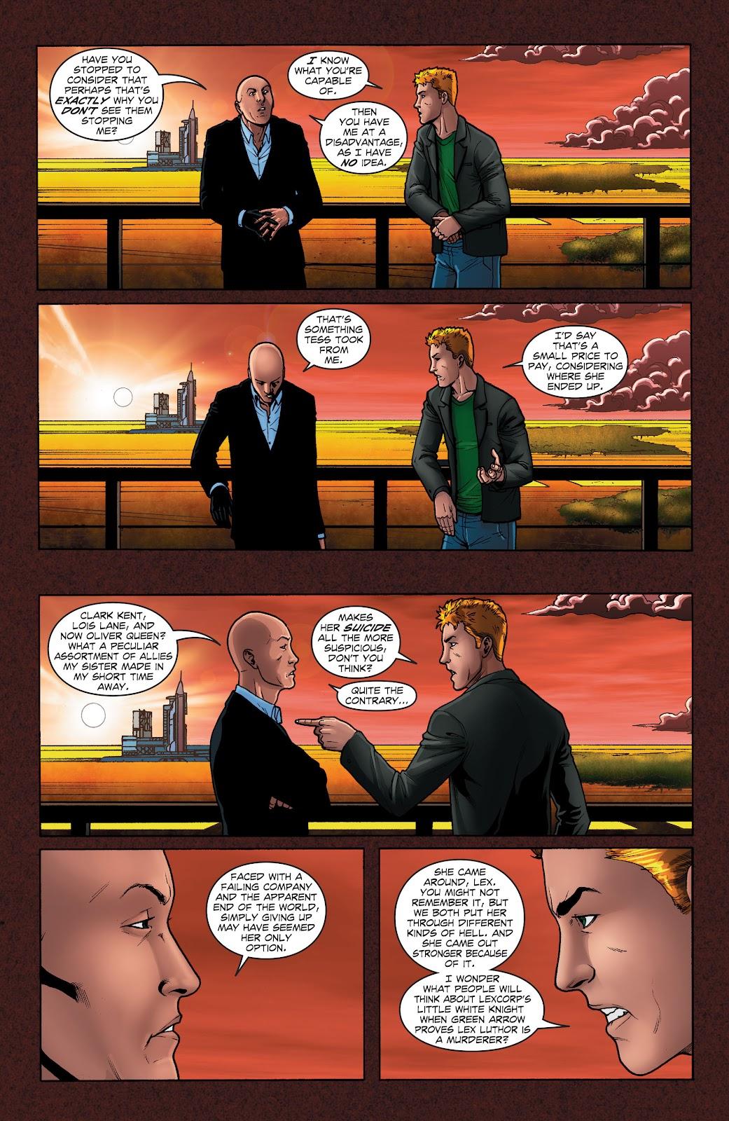 Read online Smallville Season 11 [II] comic -  Issue # TPB 1 - 50