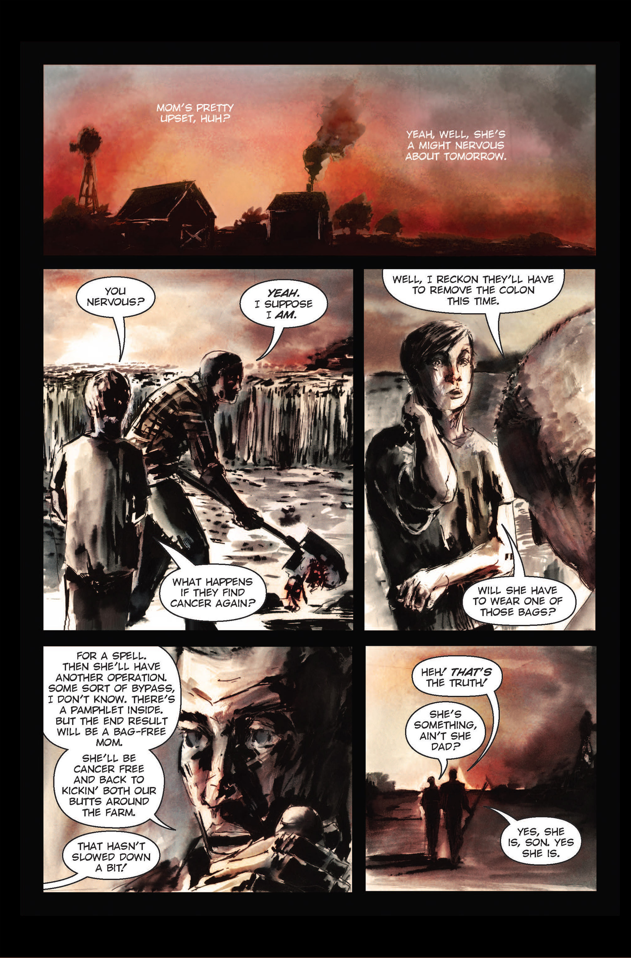 Read online The Final Plague comic -  Issue #1 - 9