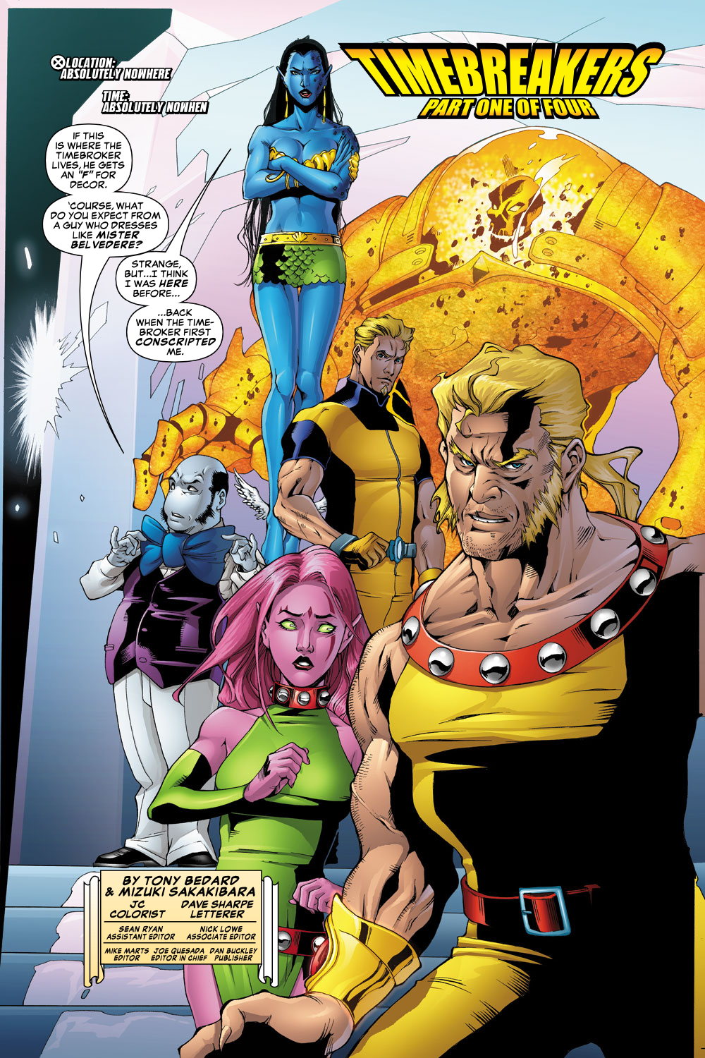 Exiles (2001) Issue #62 #63 - English 2