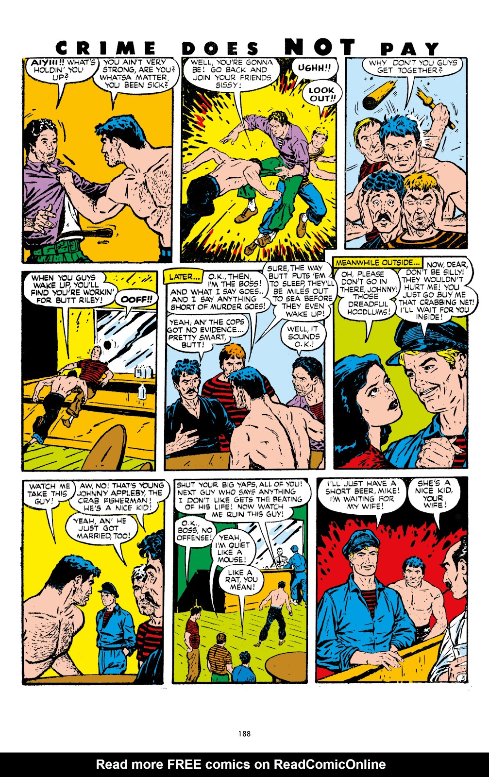 Read online Crime Does Not Pay Archives comic -  Issue # TPB 7 (Part 2) - 89