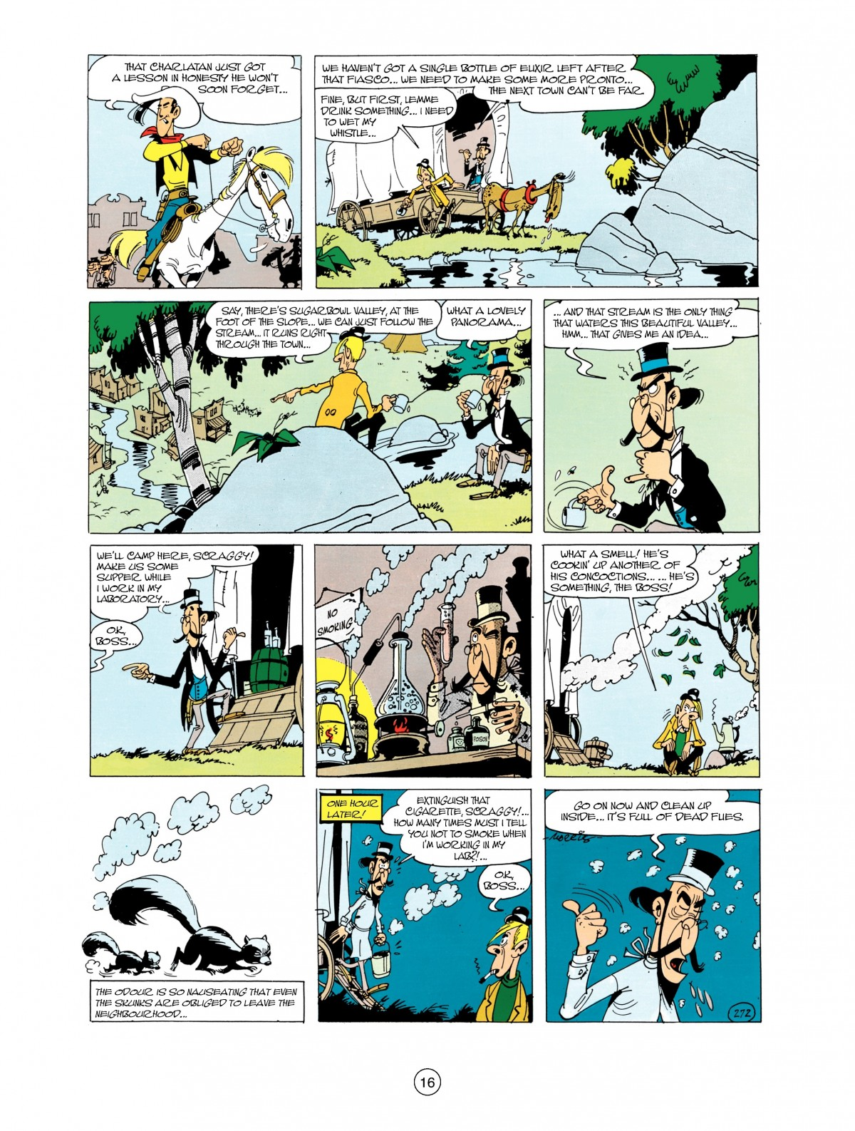 Read online A Lucky Luke Adventure comic -  Issue #38 - 16