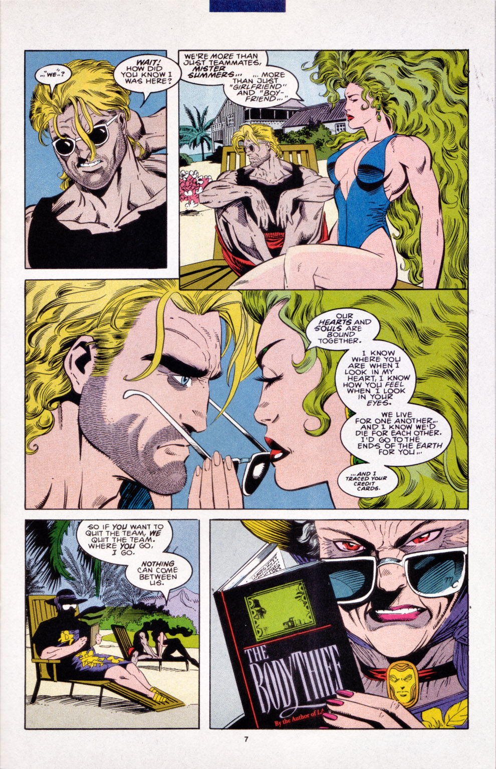 Read online X-Factor (1986) comic -  Issue #103 - 7