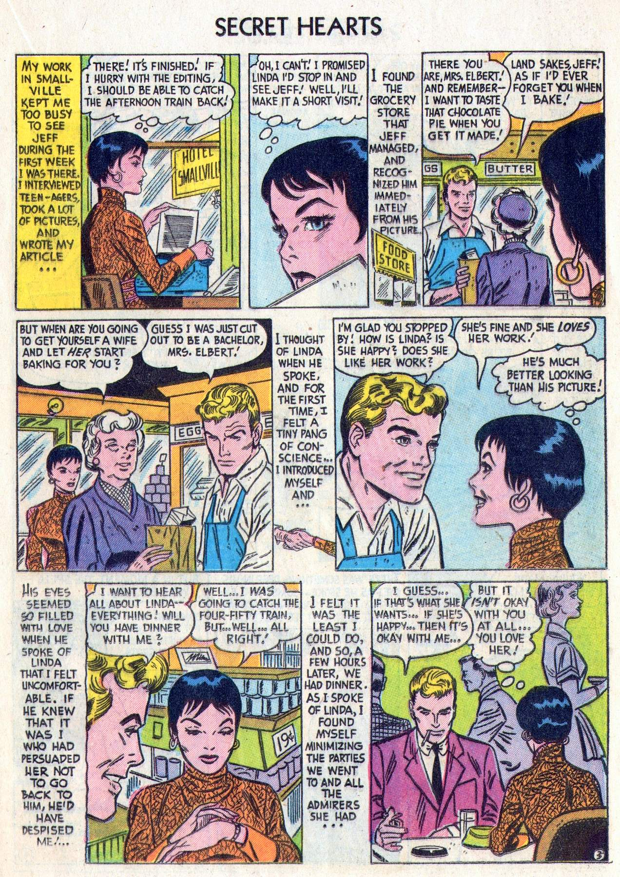 Read online Secret Hearts comic -  Issue #28 - 21