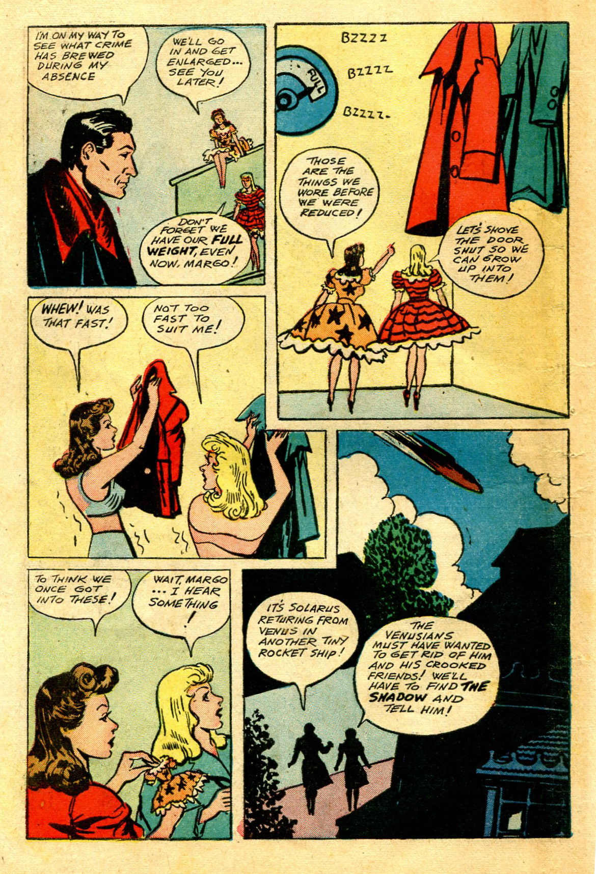 Read online Shadow Comics comic -  Issue #43 - 52