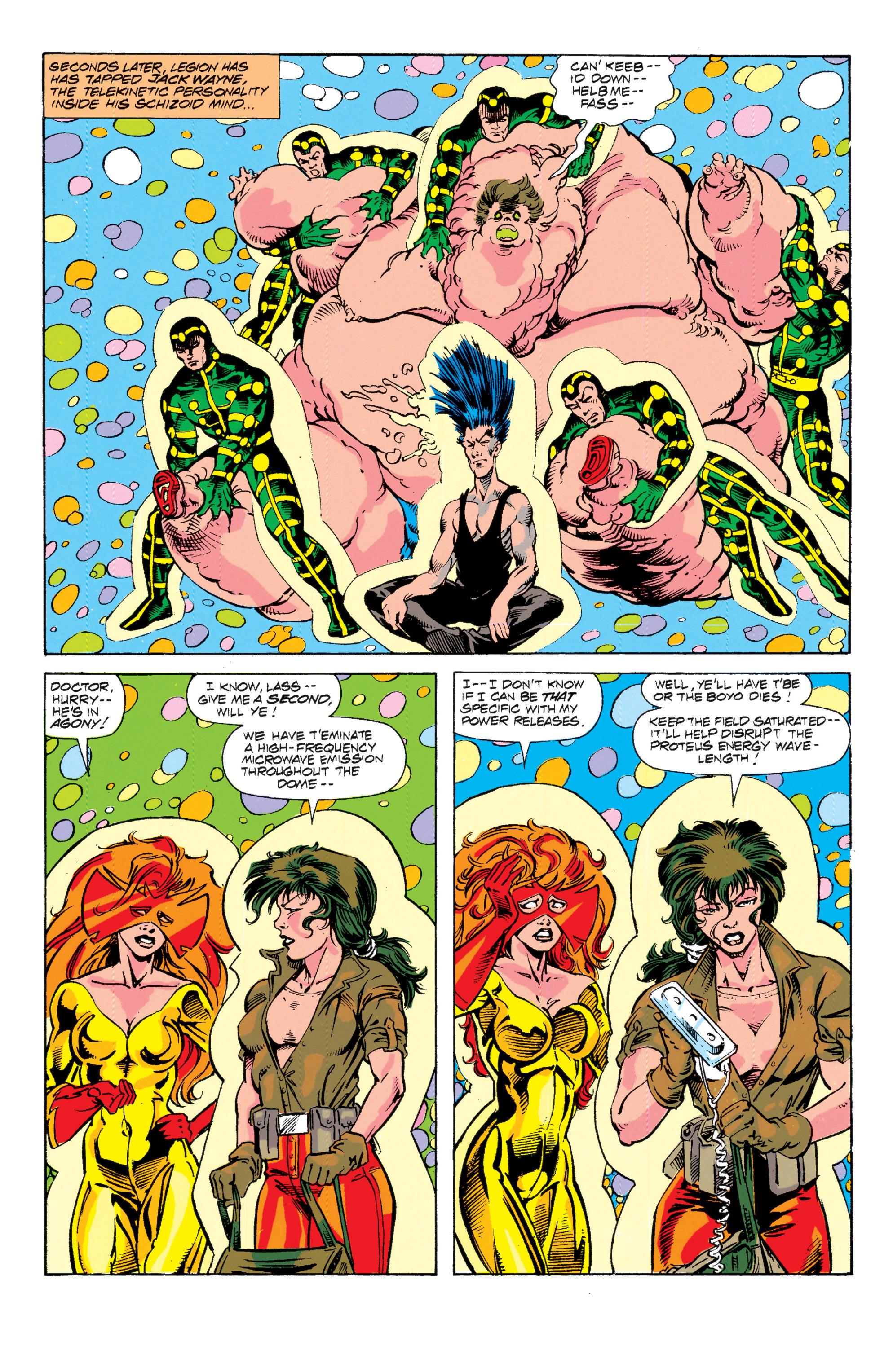 Read online Uncanny X-Men (1963) comic -  Issue # _Annual 15 - 26