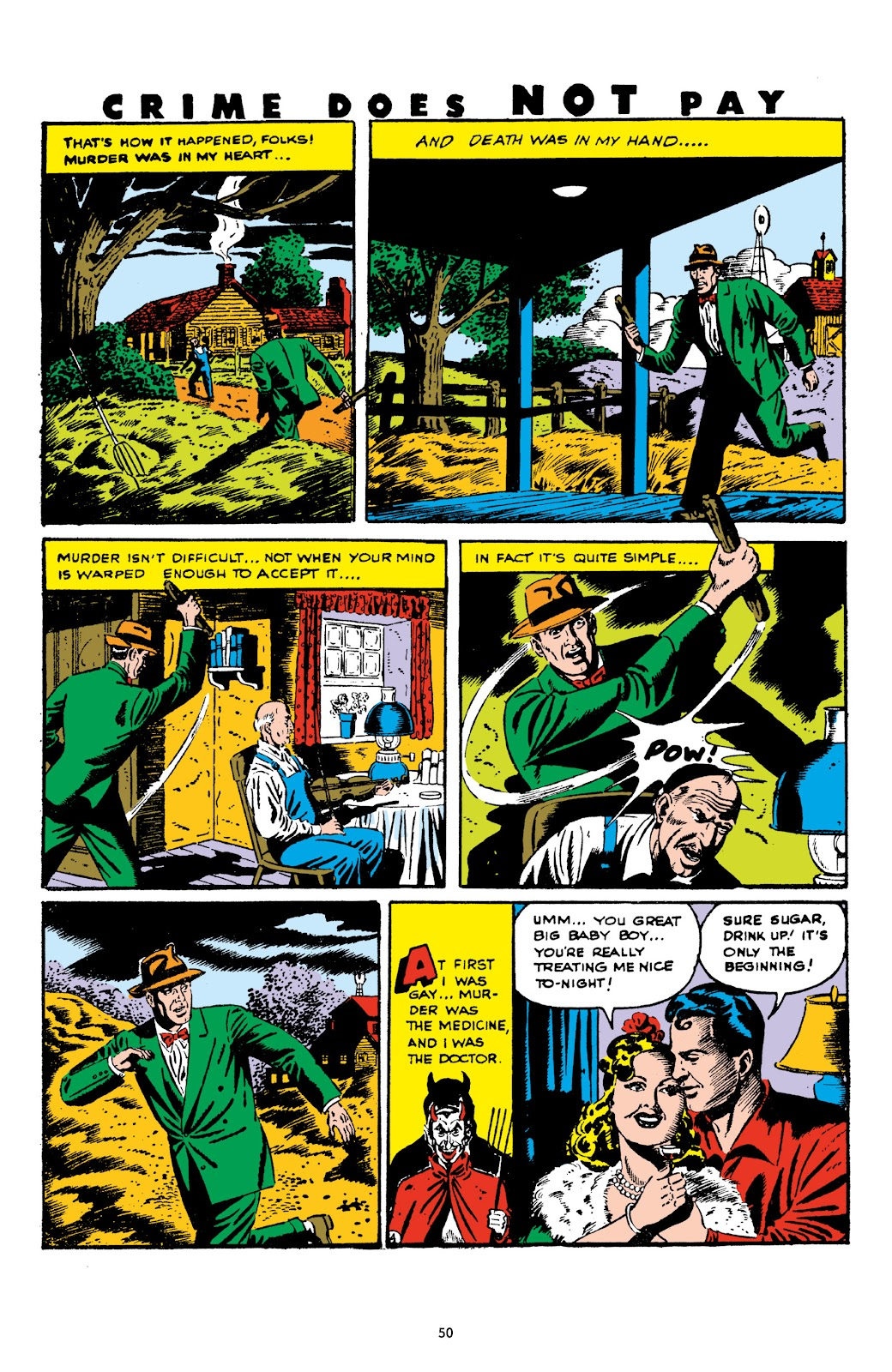 Read online Crime Does Not Pay Archives comic -  Issue # TPB 5 (Part 1) - 50
