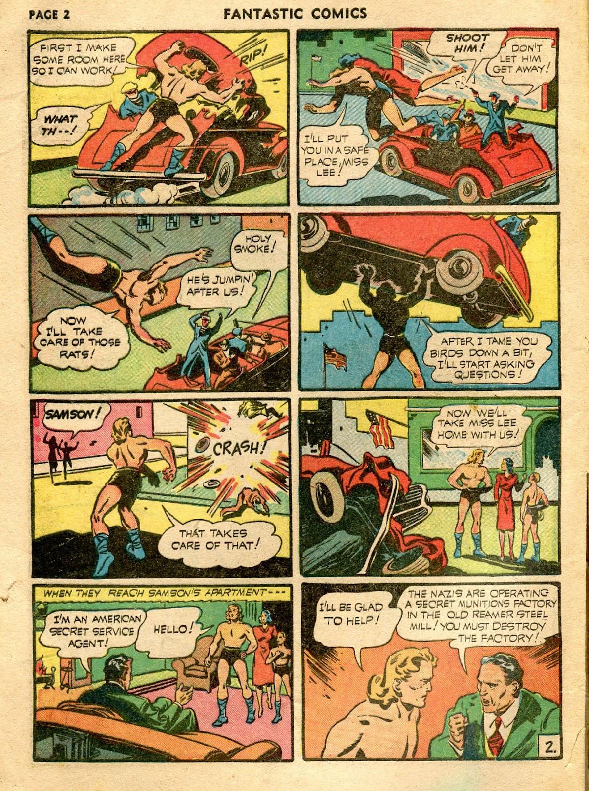 Read online Fantastic Comics comic -  Issue #21 - 4