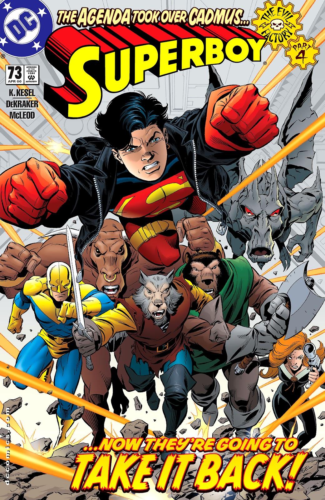 Superboy (1994) 73 Page 1
