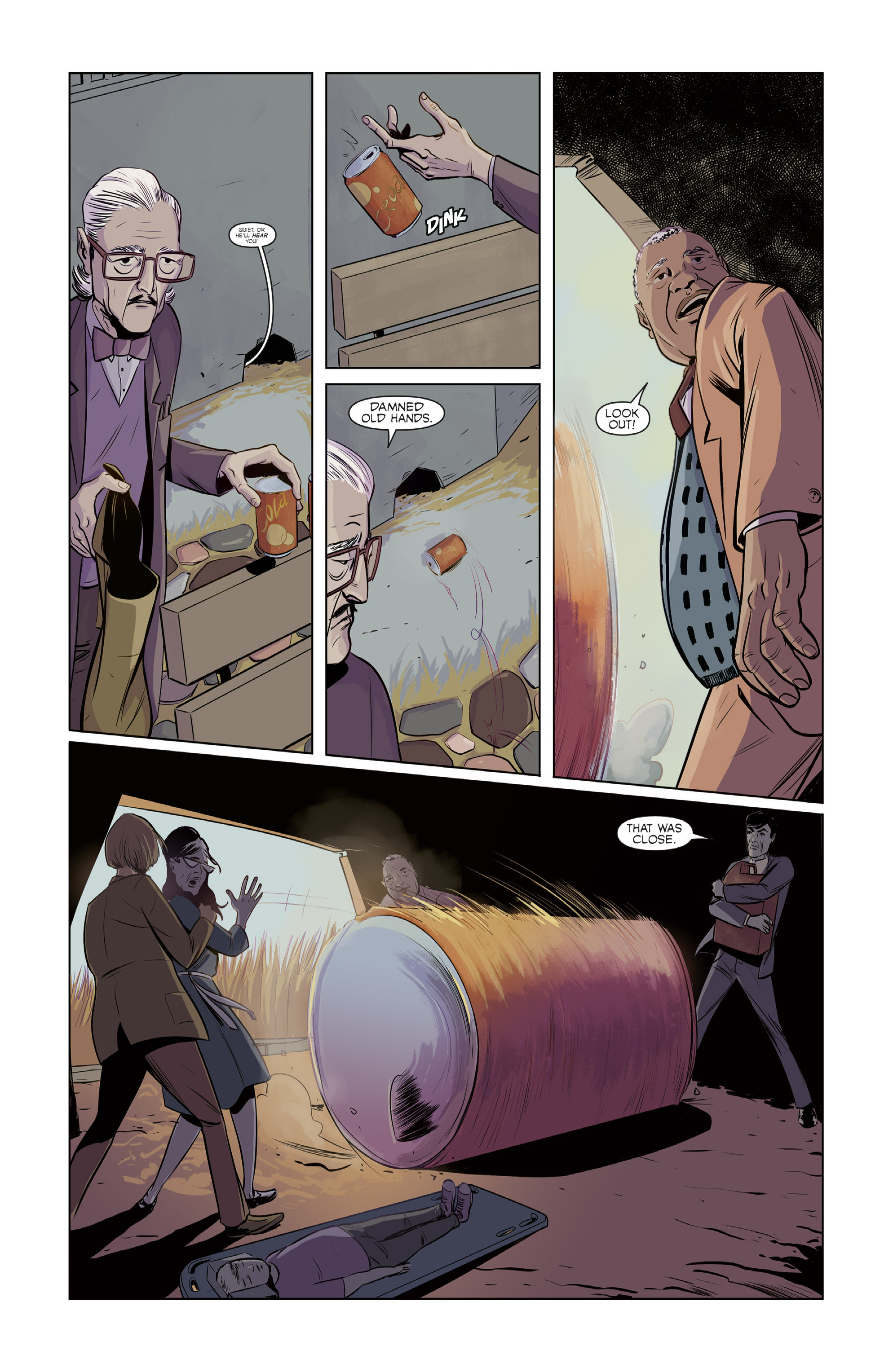 Read online Colossi comic -  Issue #2 - 9
