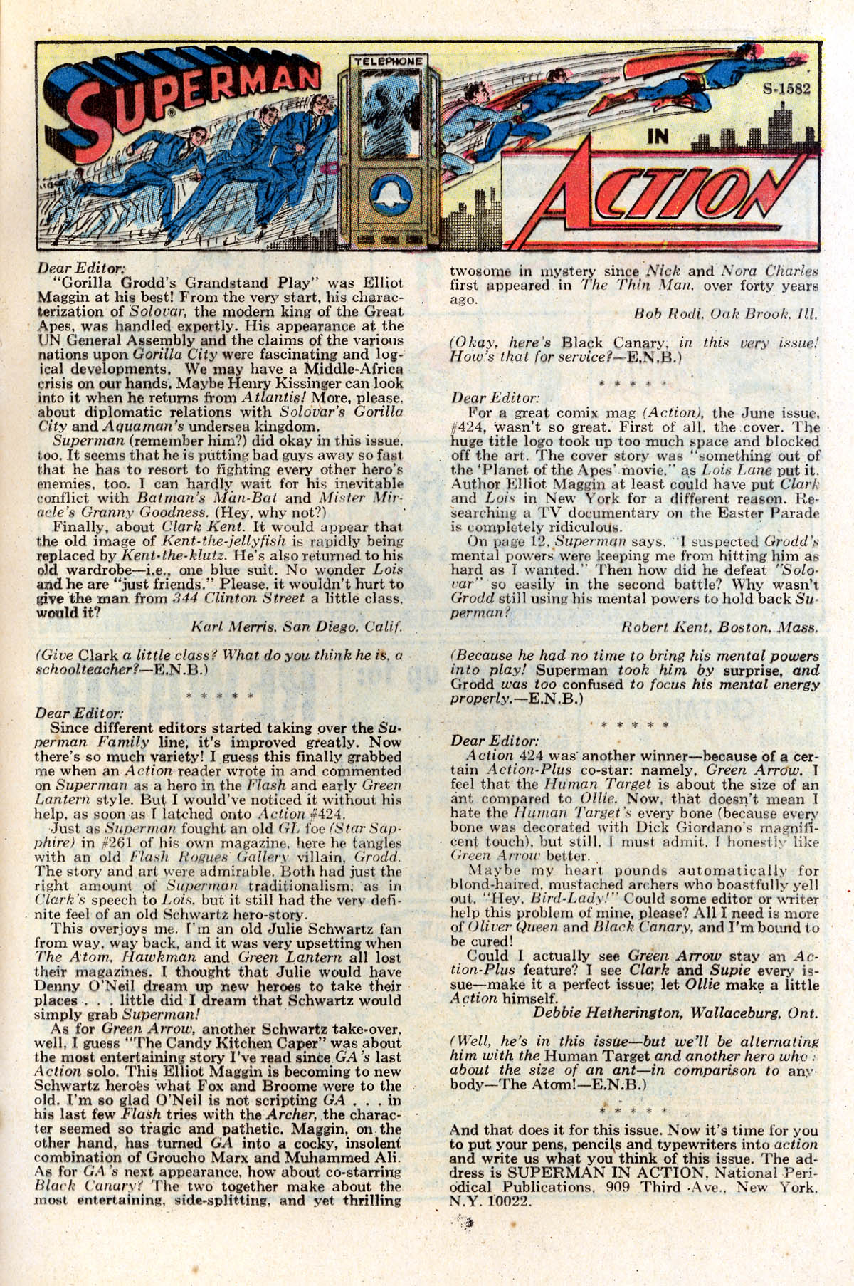 Read online Action Comics (1938) comic -  Issue #428 - 21