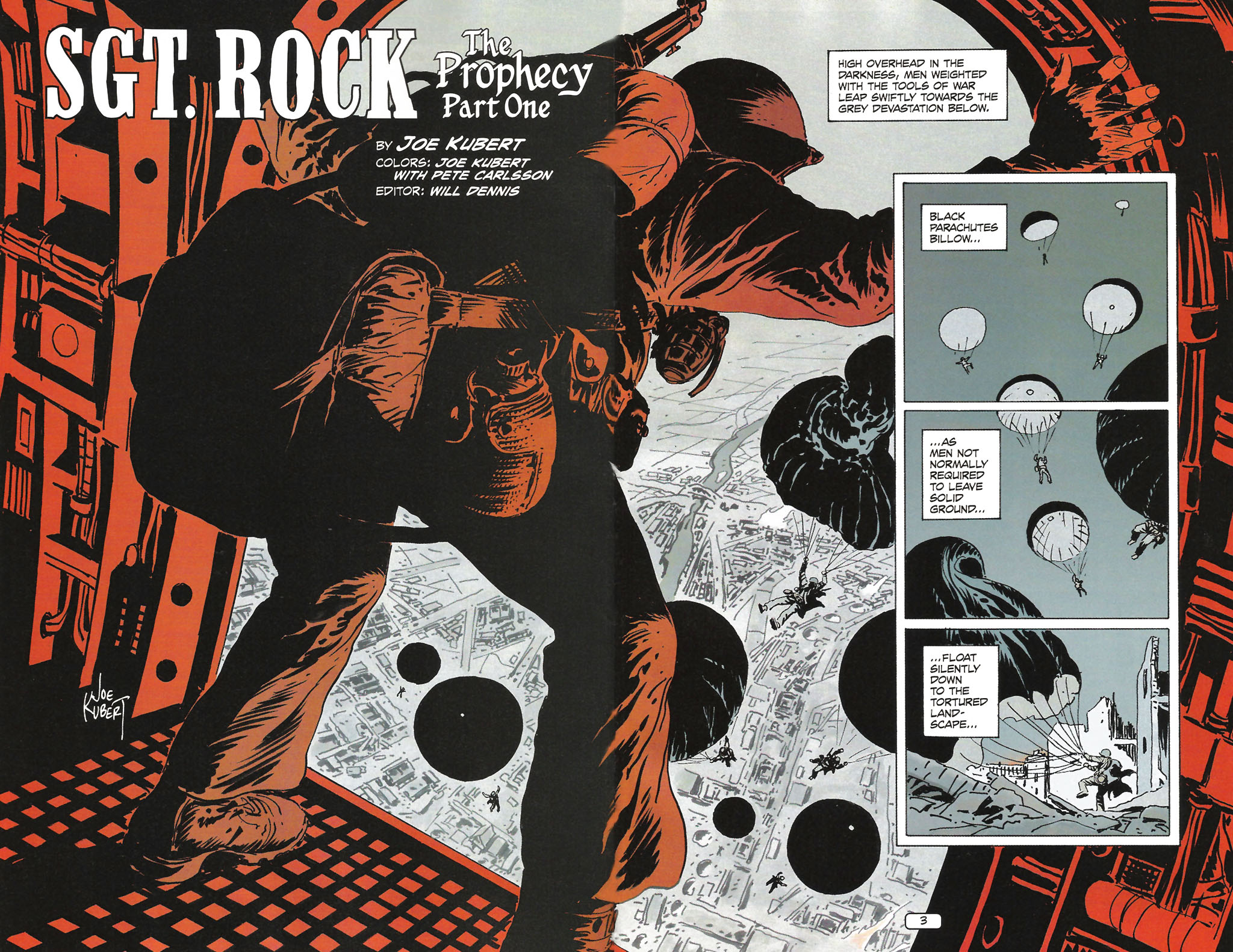 Read online Sgt. Rock: The Prophecy comic -  Issue #1 - 5