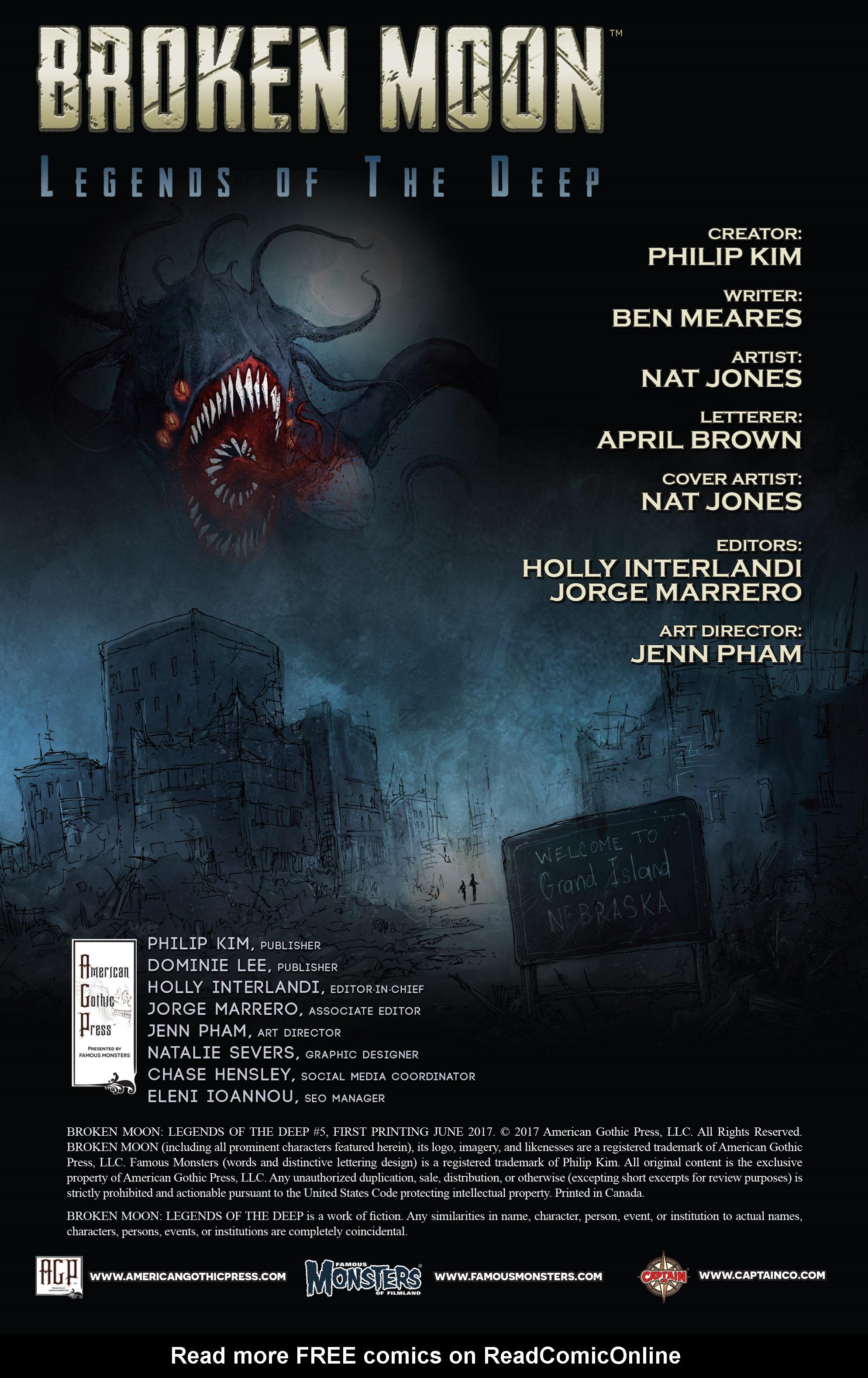Read online Broken Moon: Legends of the Deep comic -  Issue #5 - 2