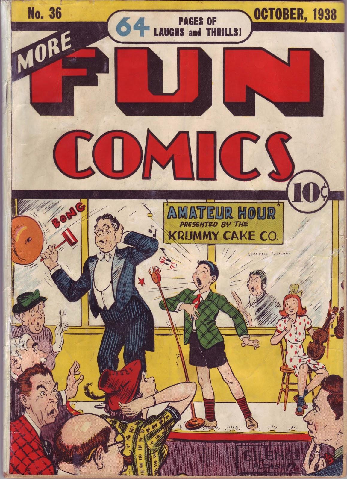 More Fun Comics 36 Page 1
