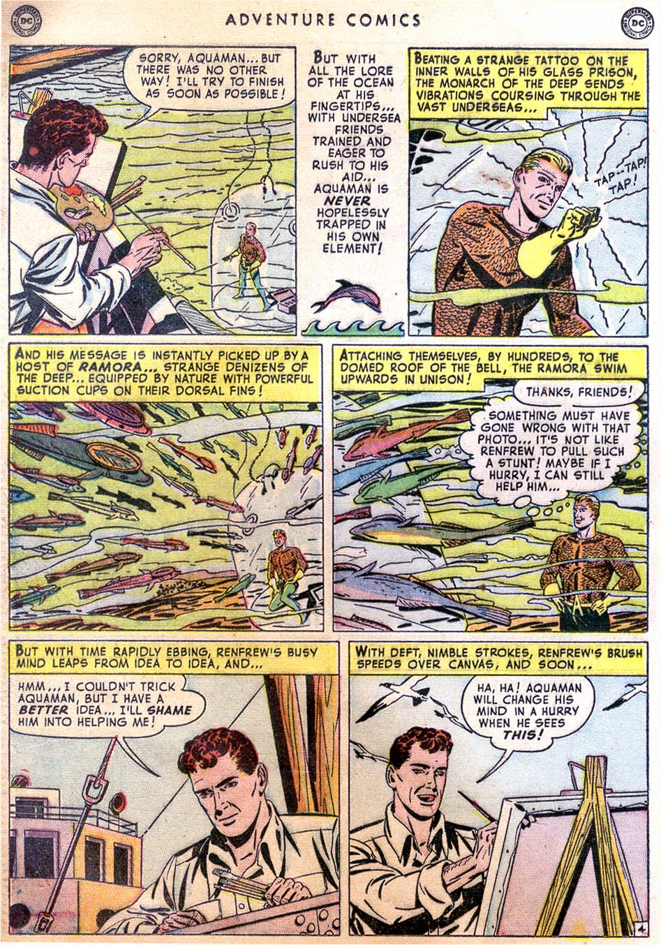 Read online Adventure Comics (1938) comic -  Issue #158 - 34