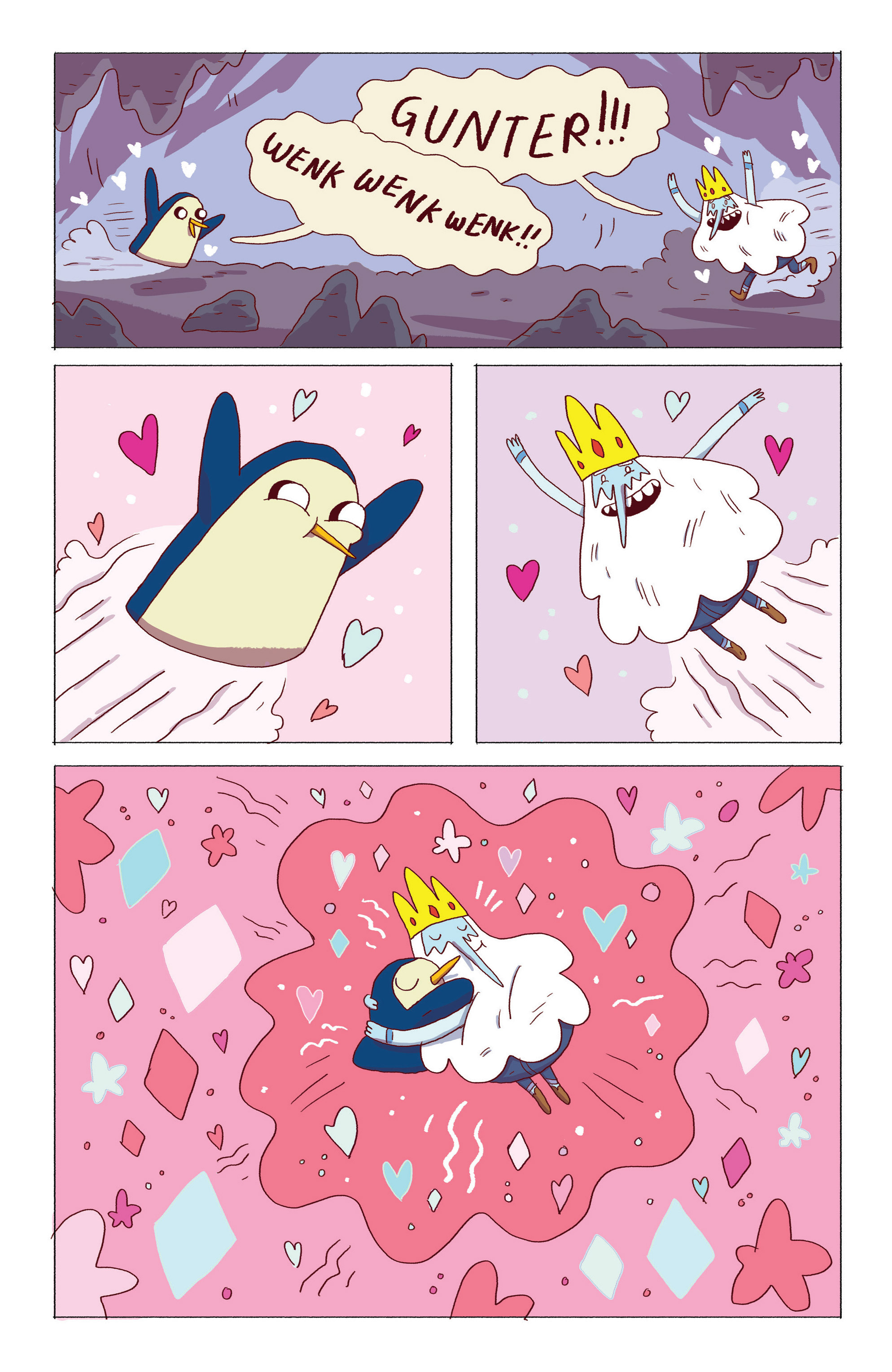 Read online Adventure Time: Ice King comic -  Issue #5 - 23