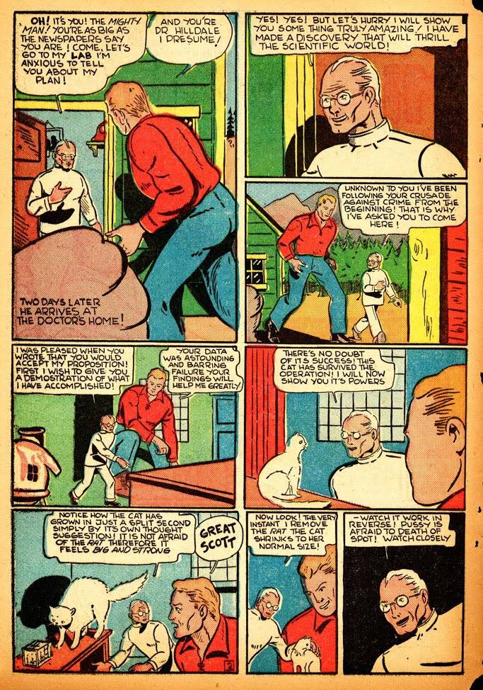 Read online Amazing Man Comics comic -  Issue #12 - 60