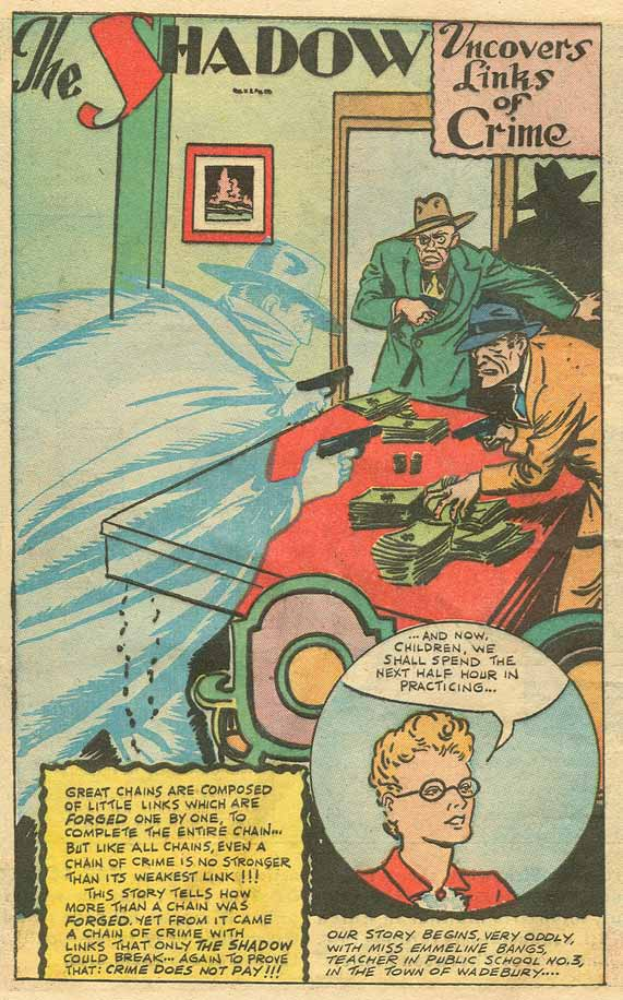Read online Shadow Comics comic -  Issue #79 - 38