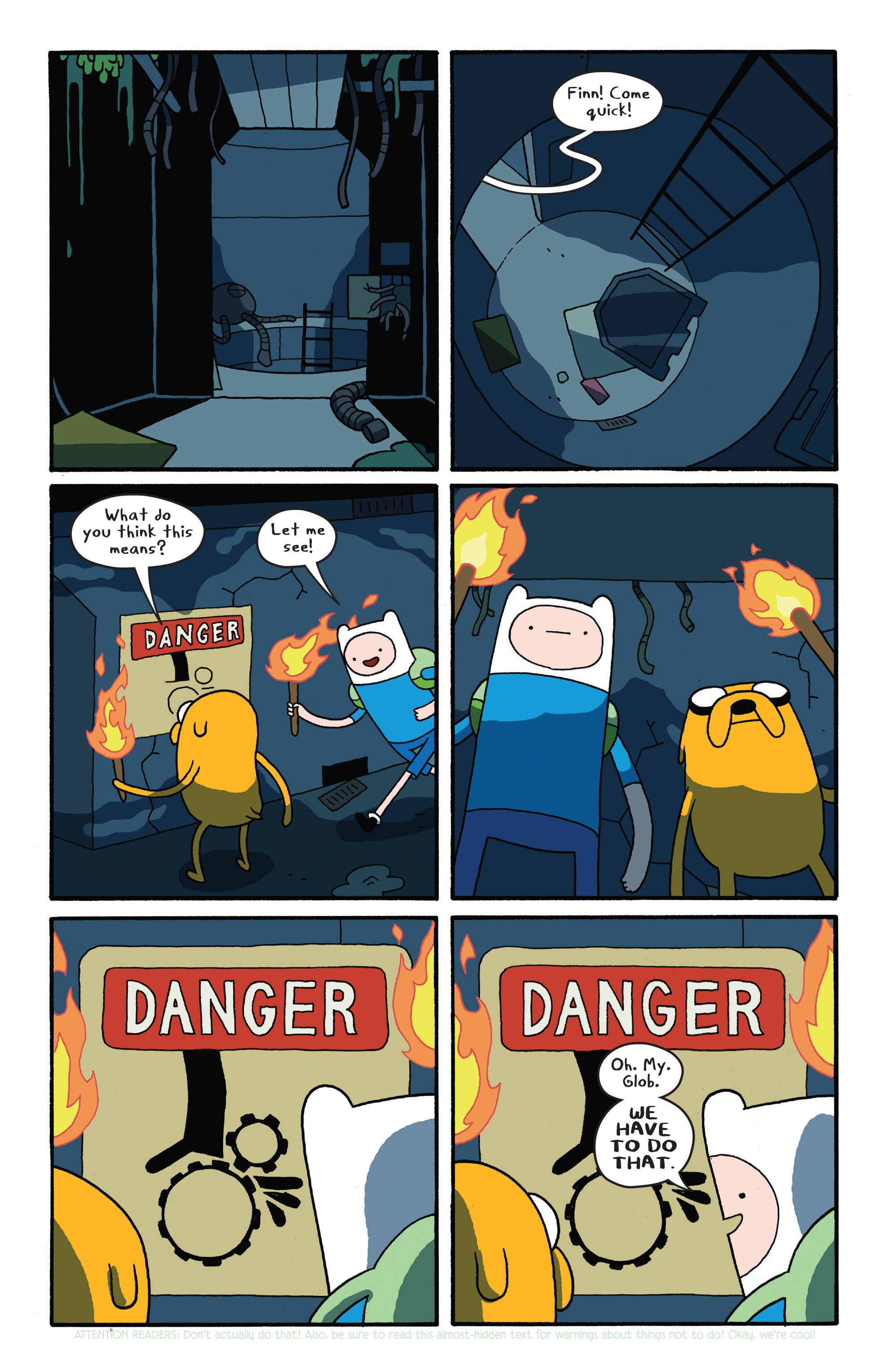 Read online Adventure Time comic -  Issue #26 - 7