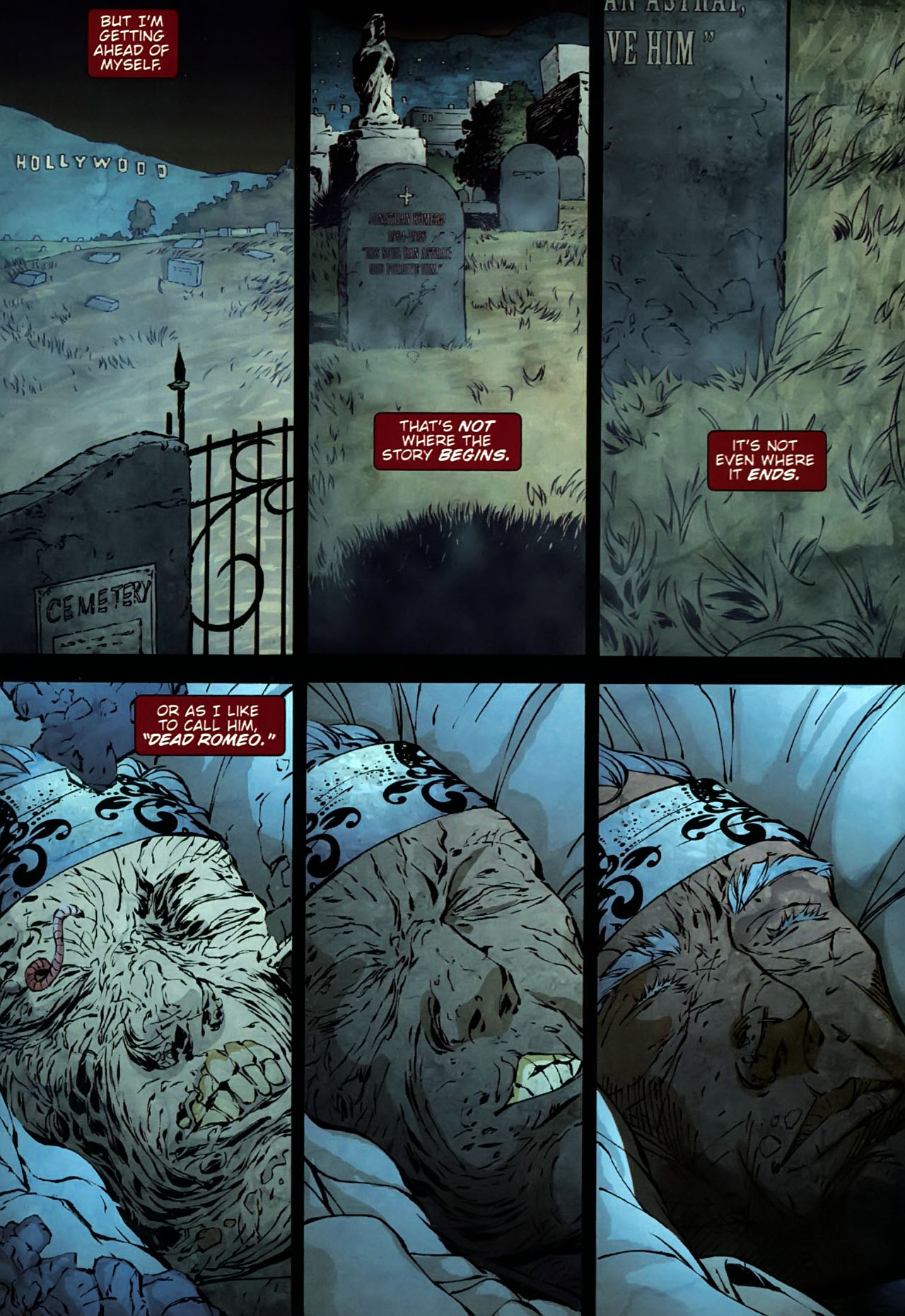 Read online Dead Romeo comic -  Issue #1 - 3