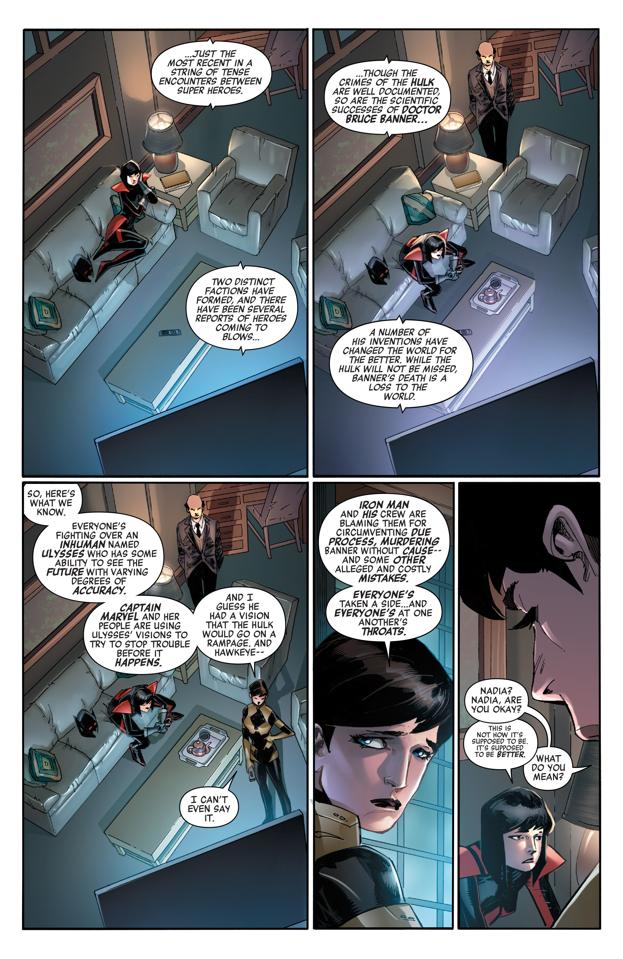 Read online All-New, All-Different Avengers comic -  Issue #14 - 12