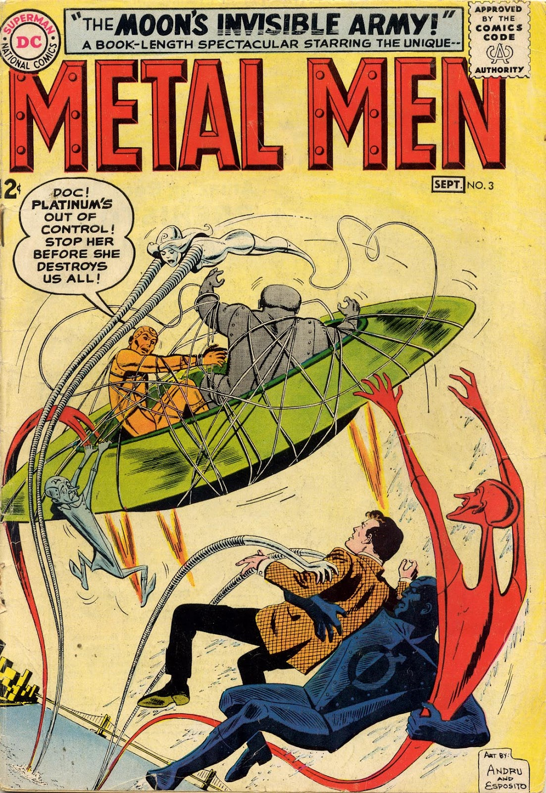 Metal Men (1963) issue 3 - Page 1