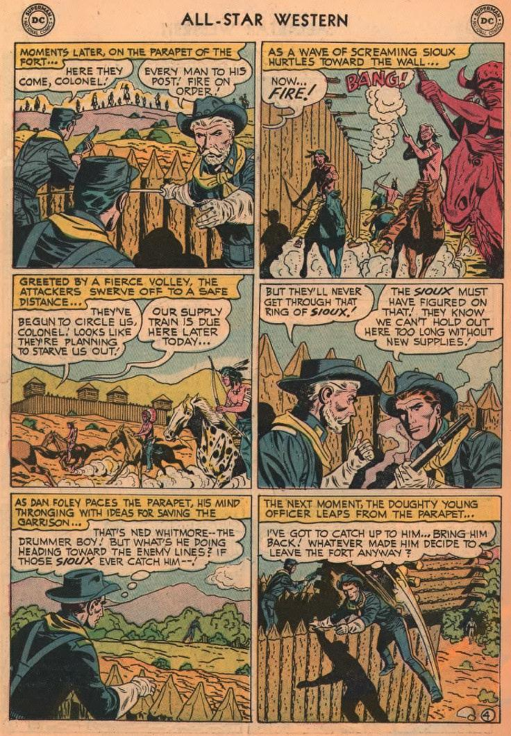 Read online All-Star Western (1951) comic -  Issue #87 - 22