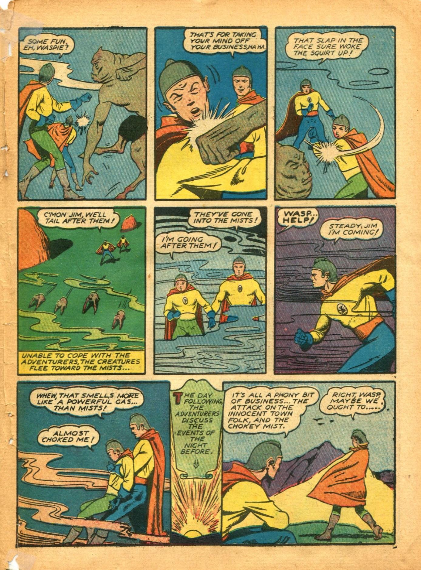 Read online Shadow Comics comic -  Issue #12 - 51
