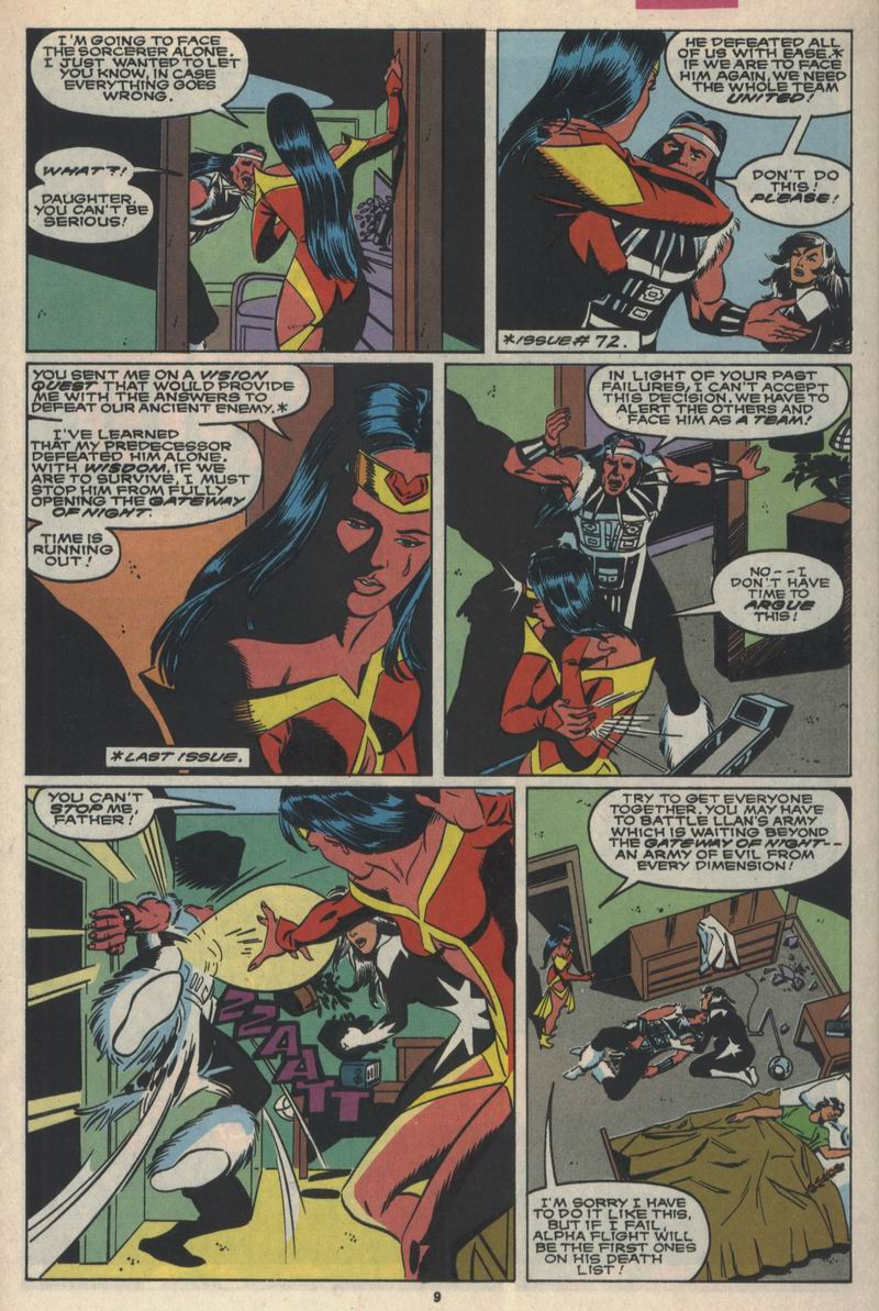 Read online Alpha Flight (1983) comic -  Issue #84 - 8