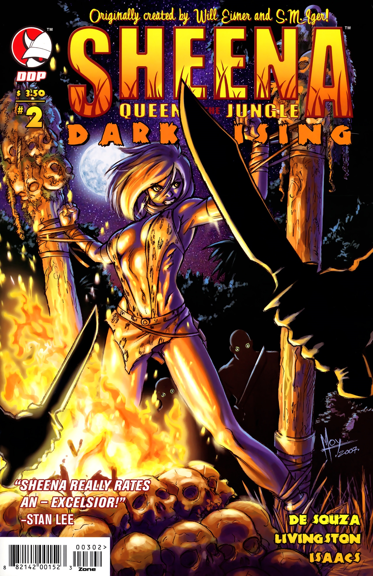 Read online Sheena Queen of the Jungle: Dark Rising comic -  Issue #2 - 1