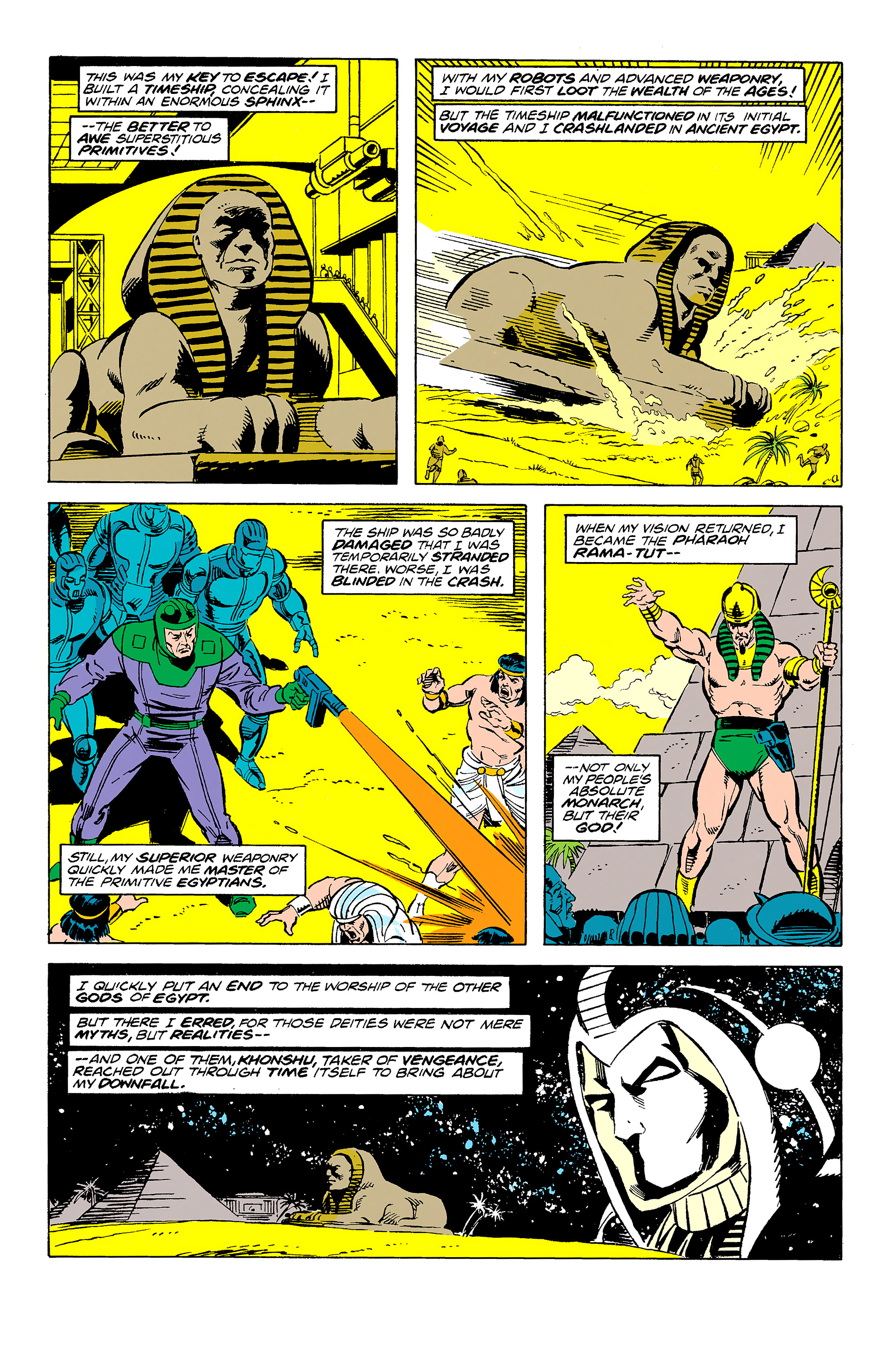 Read online Captain America (1968) comic -  Issue # _Annual 11 - 49