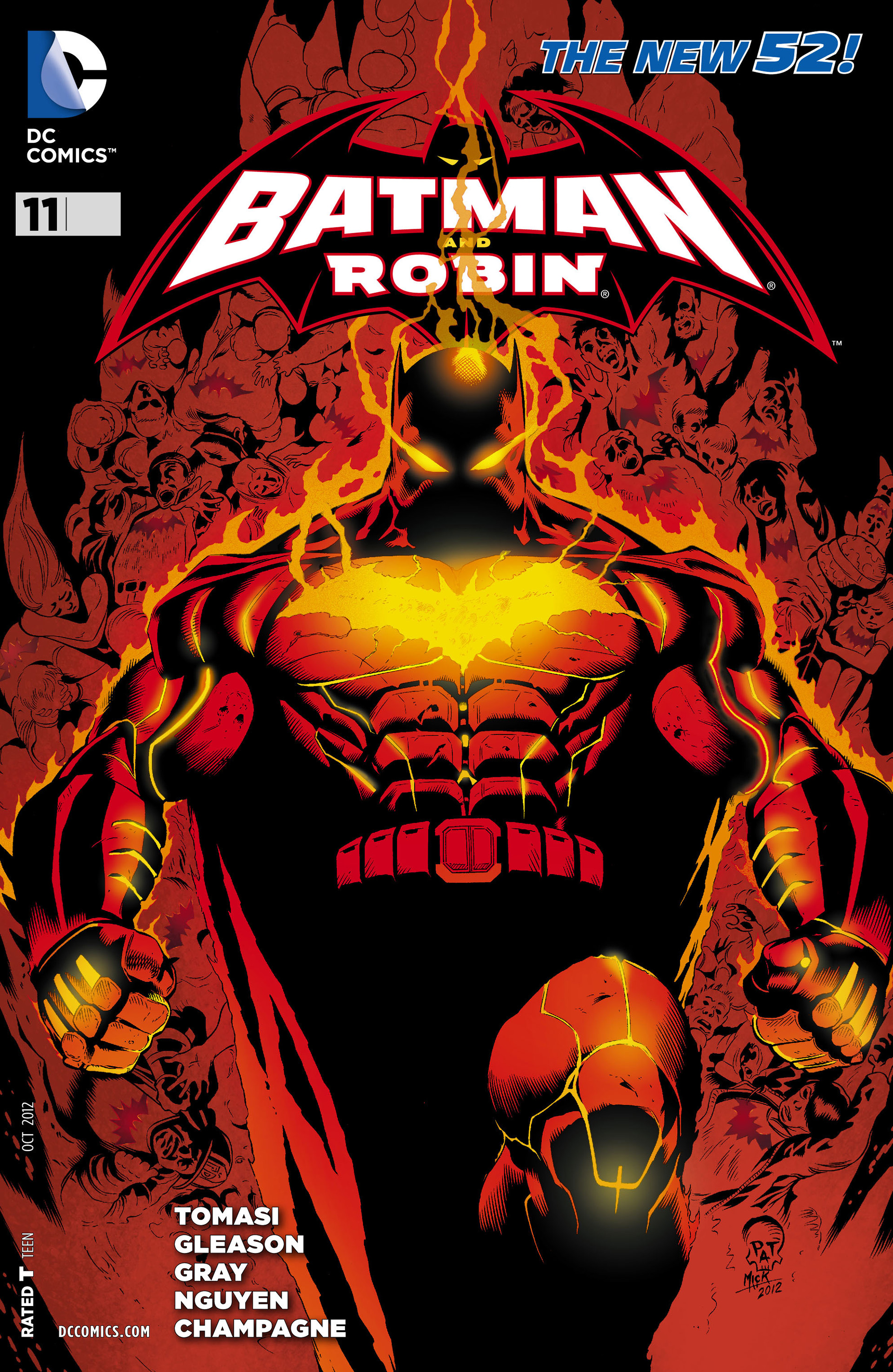 Read online Batman and Robin (2011) comic -  Issue #11 - 2